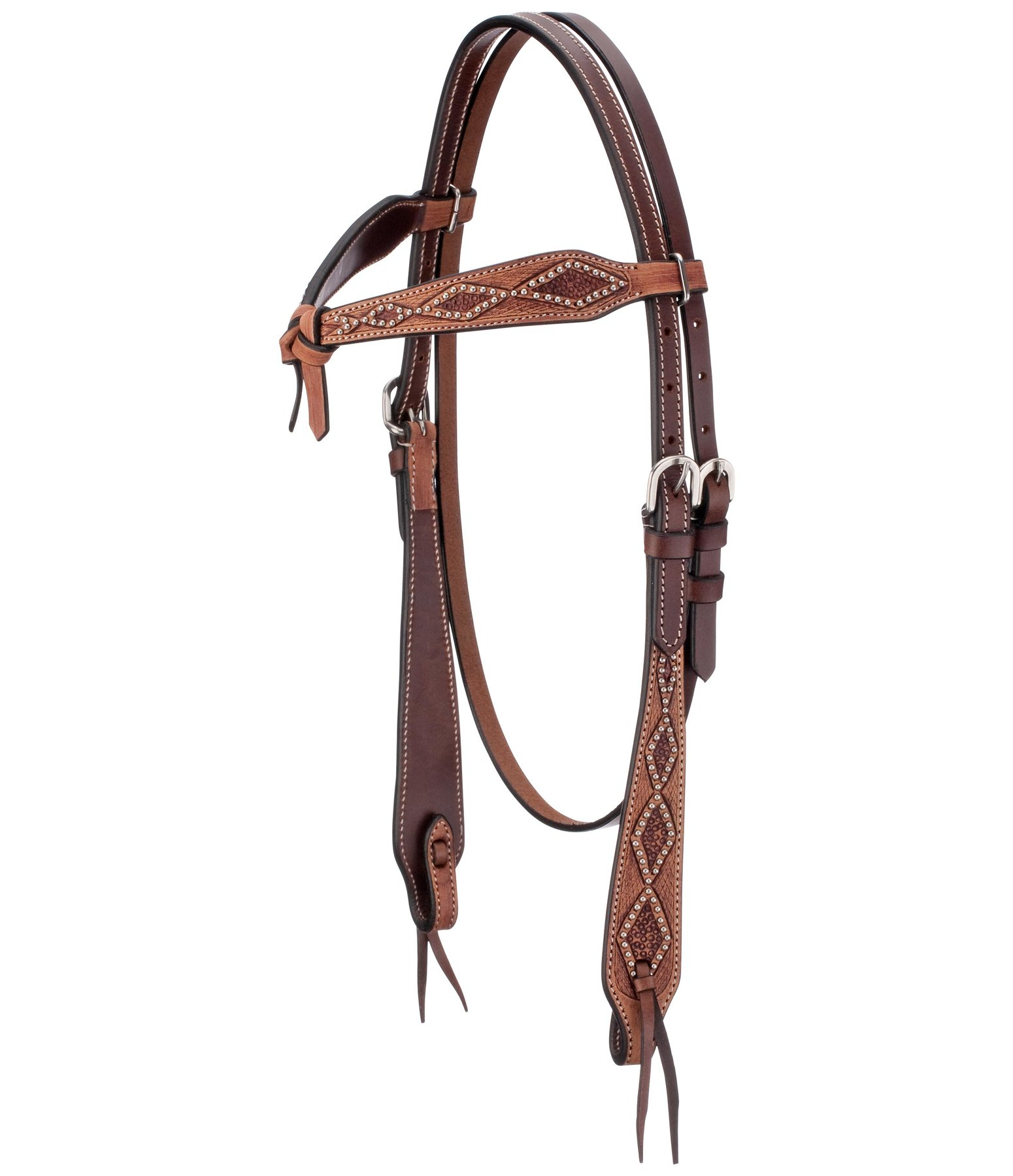 Western Headstall Studded