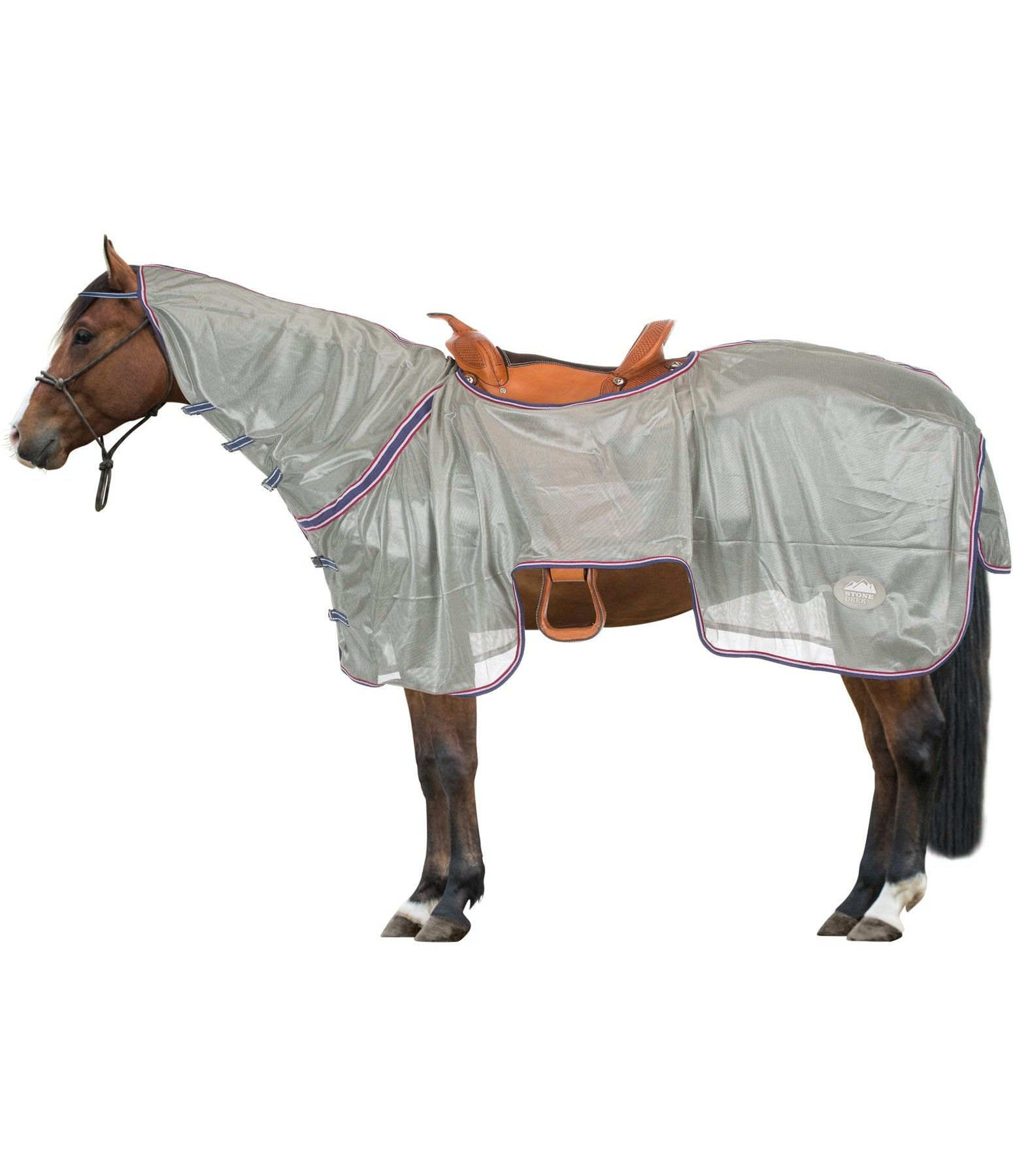 Exercise Fly Rug With Retractable Neckpiece