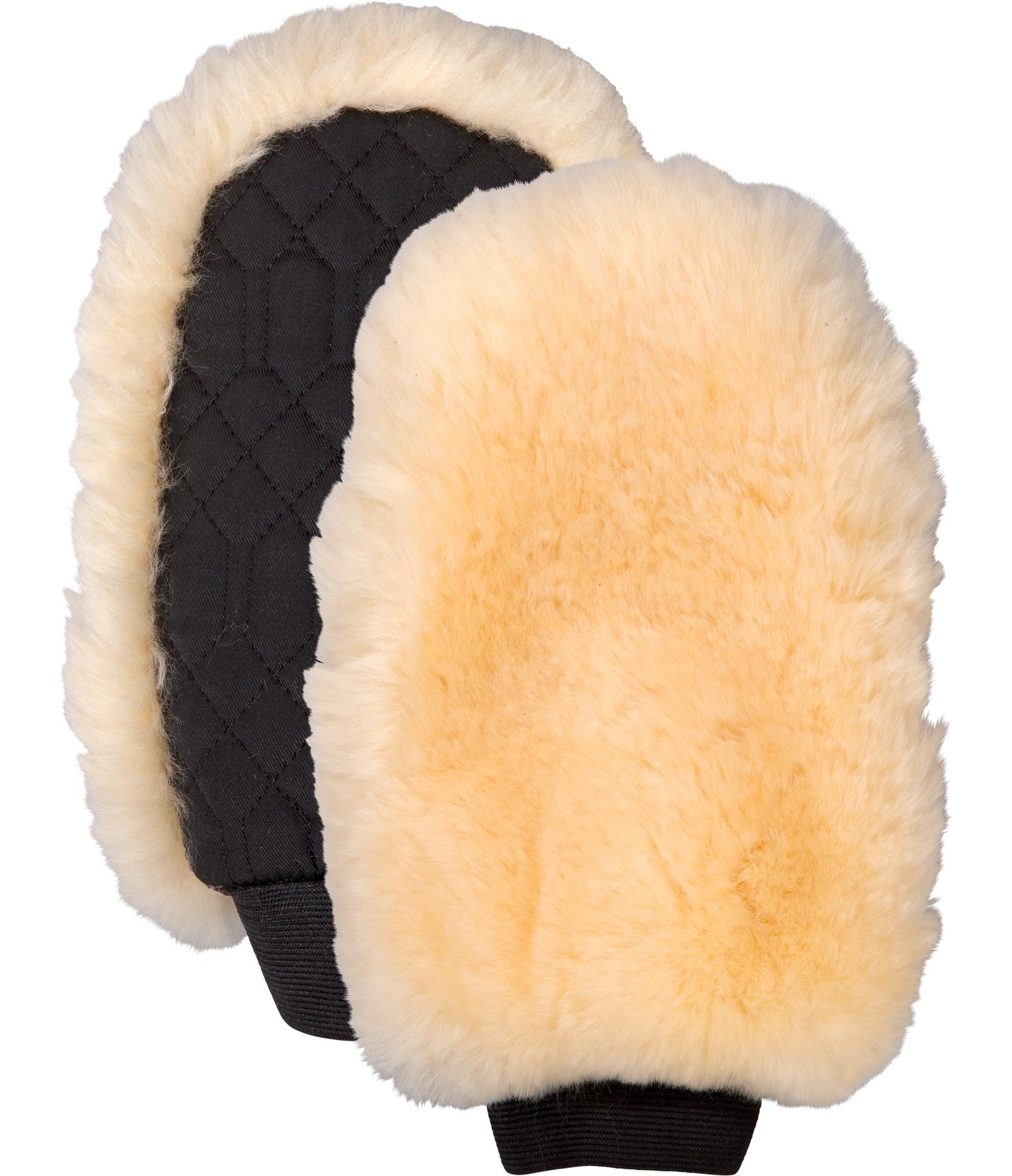 Sheepskin Grooming Mitt Single Sided