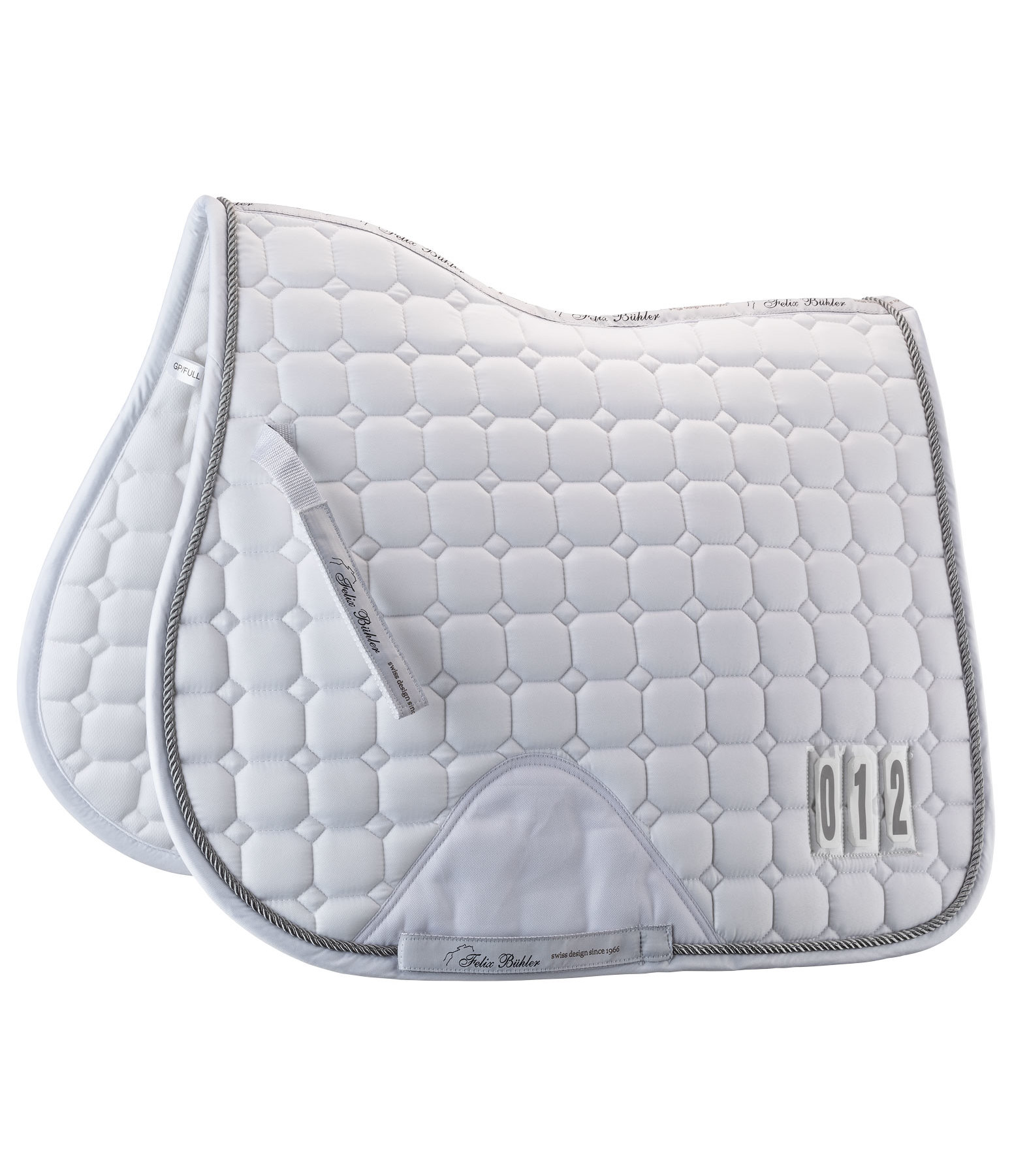 Competition Saddle Pad Numbers