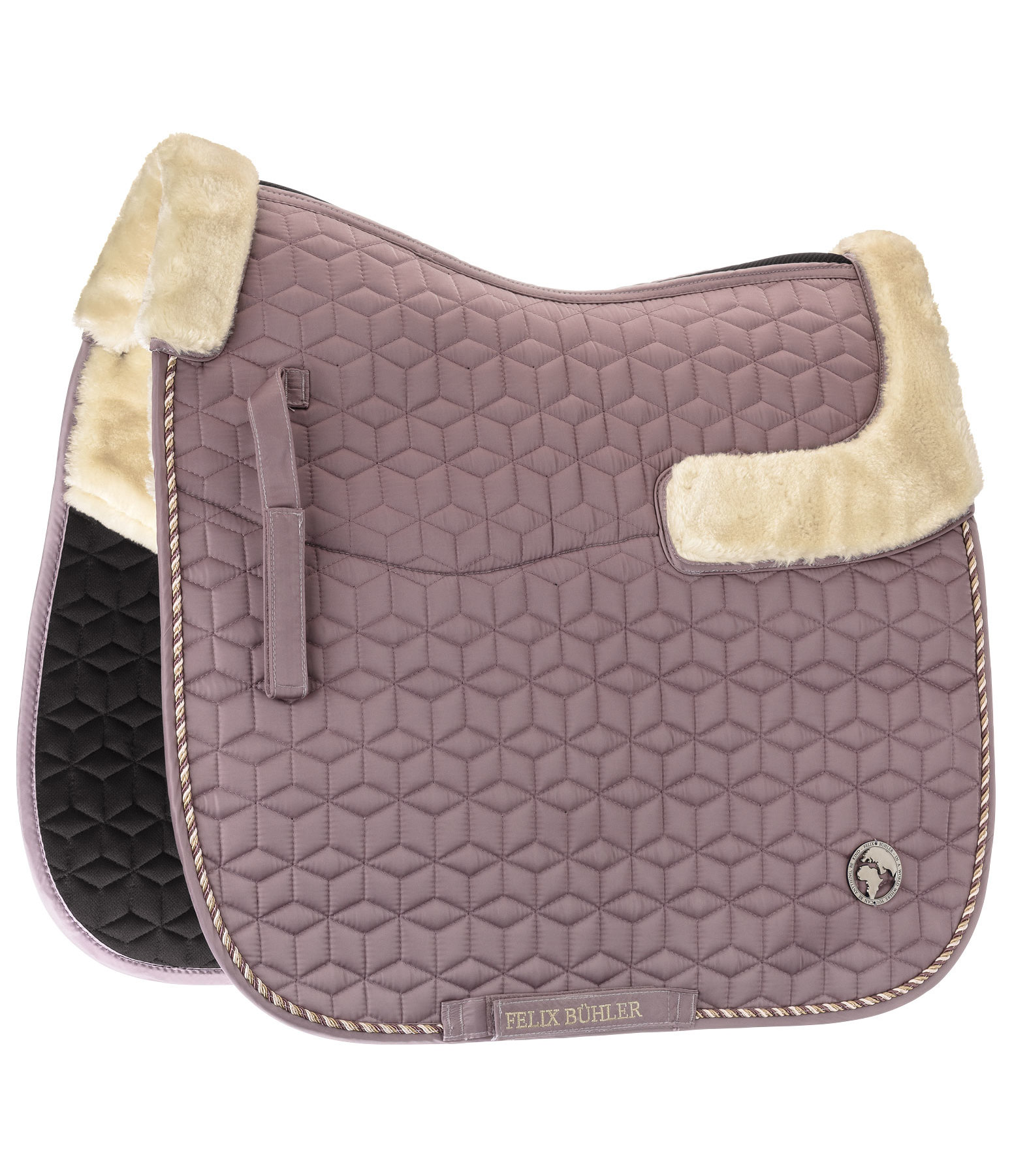 Teddy Fleece Saddle Pad World