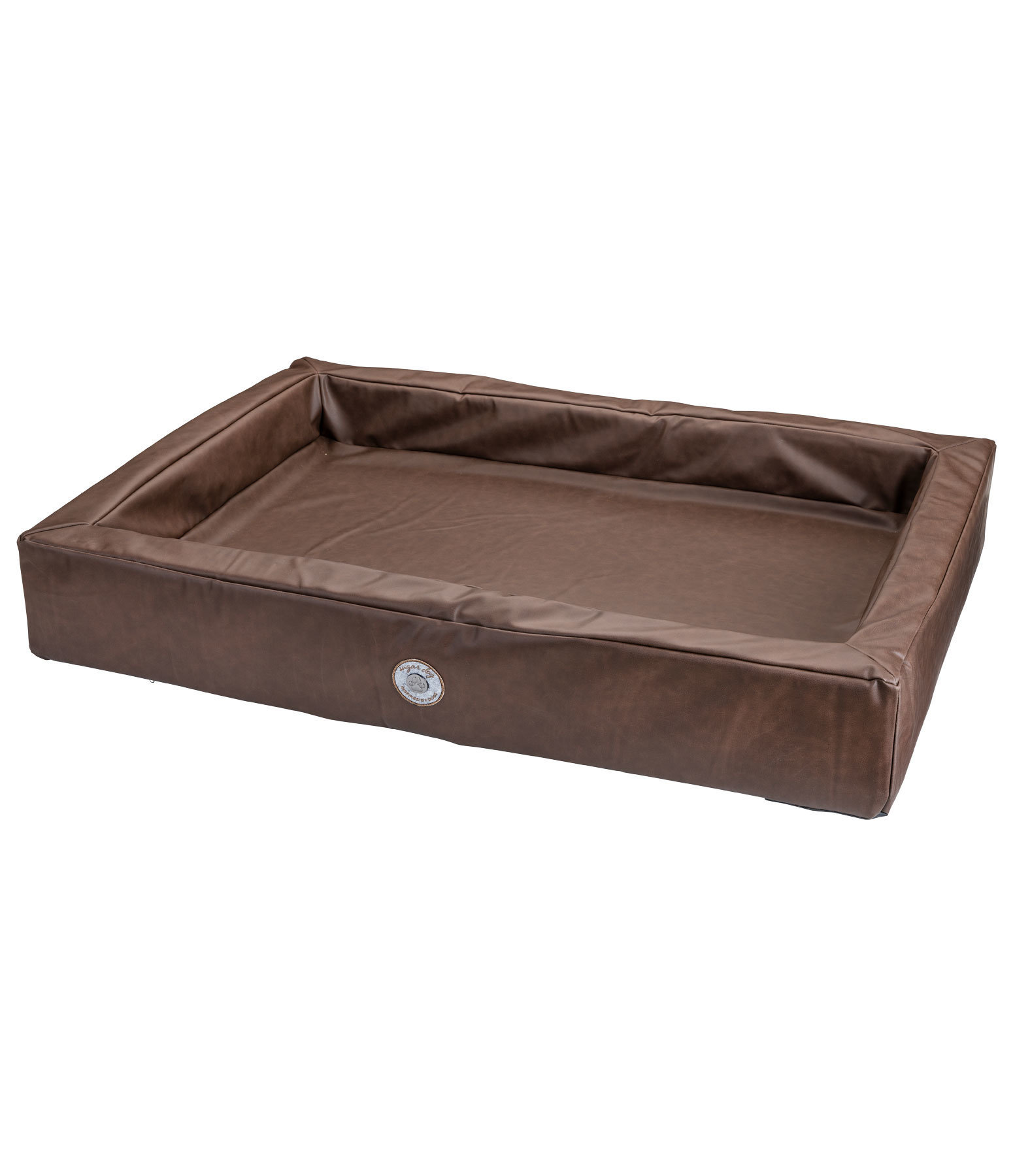 Synthetic Leather Dog Bed Volterra