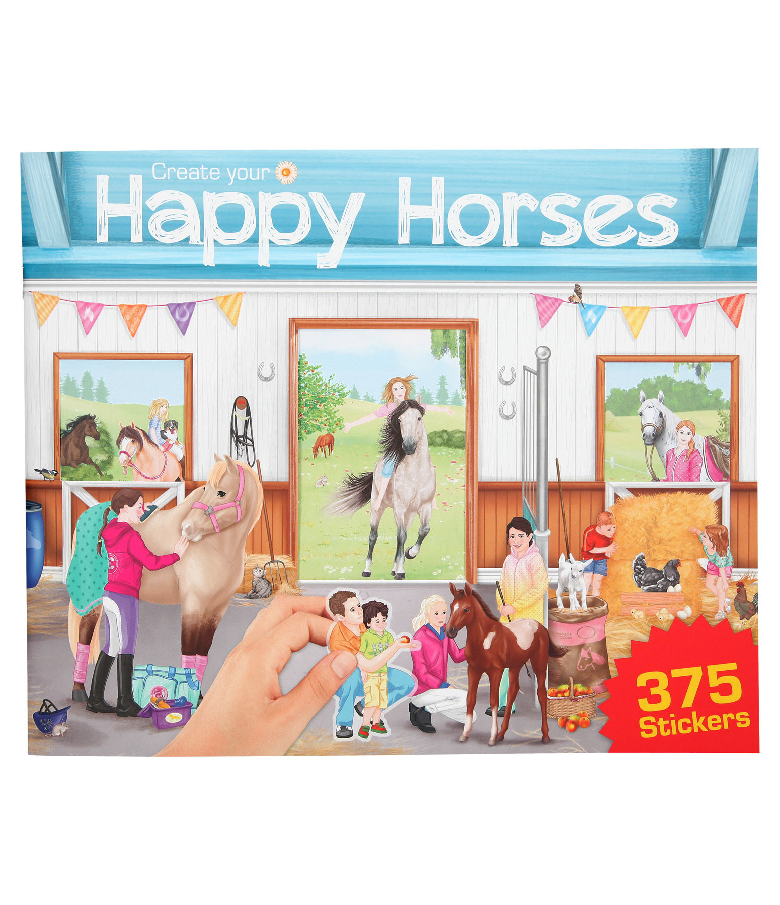 Miss Melody Coloring Book Create your Happy Horses