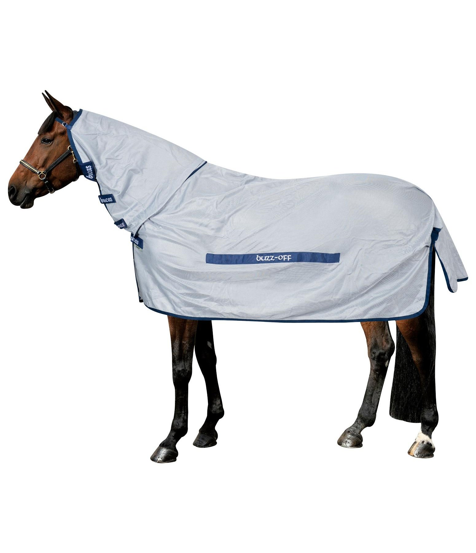 Buzz-Off Full Neck Fly Rug, UV 70+