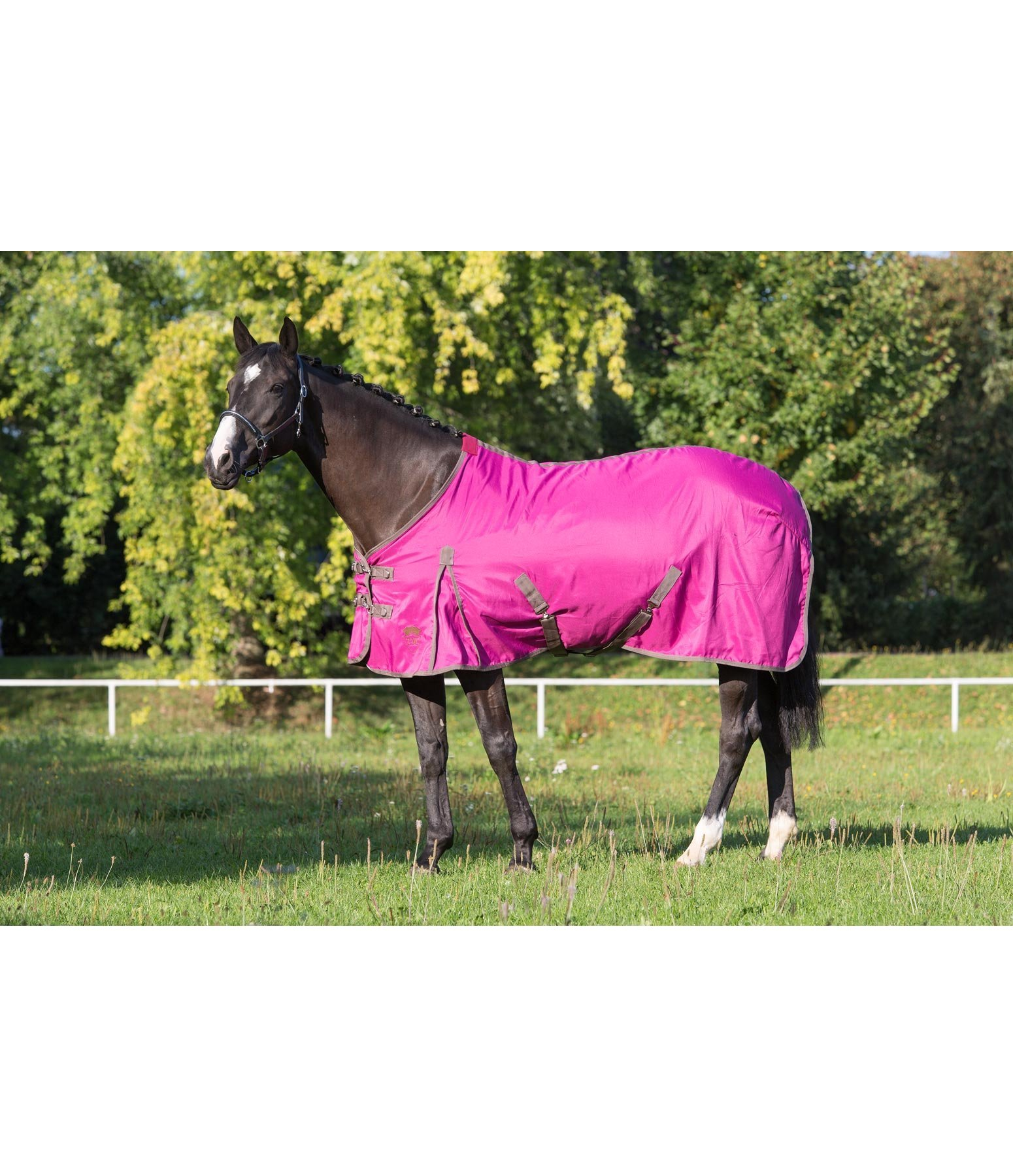 Stable Rug With Fleece Lining
