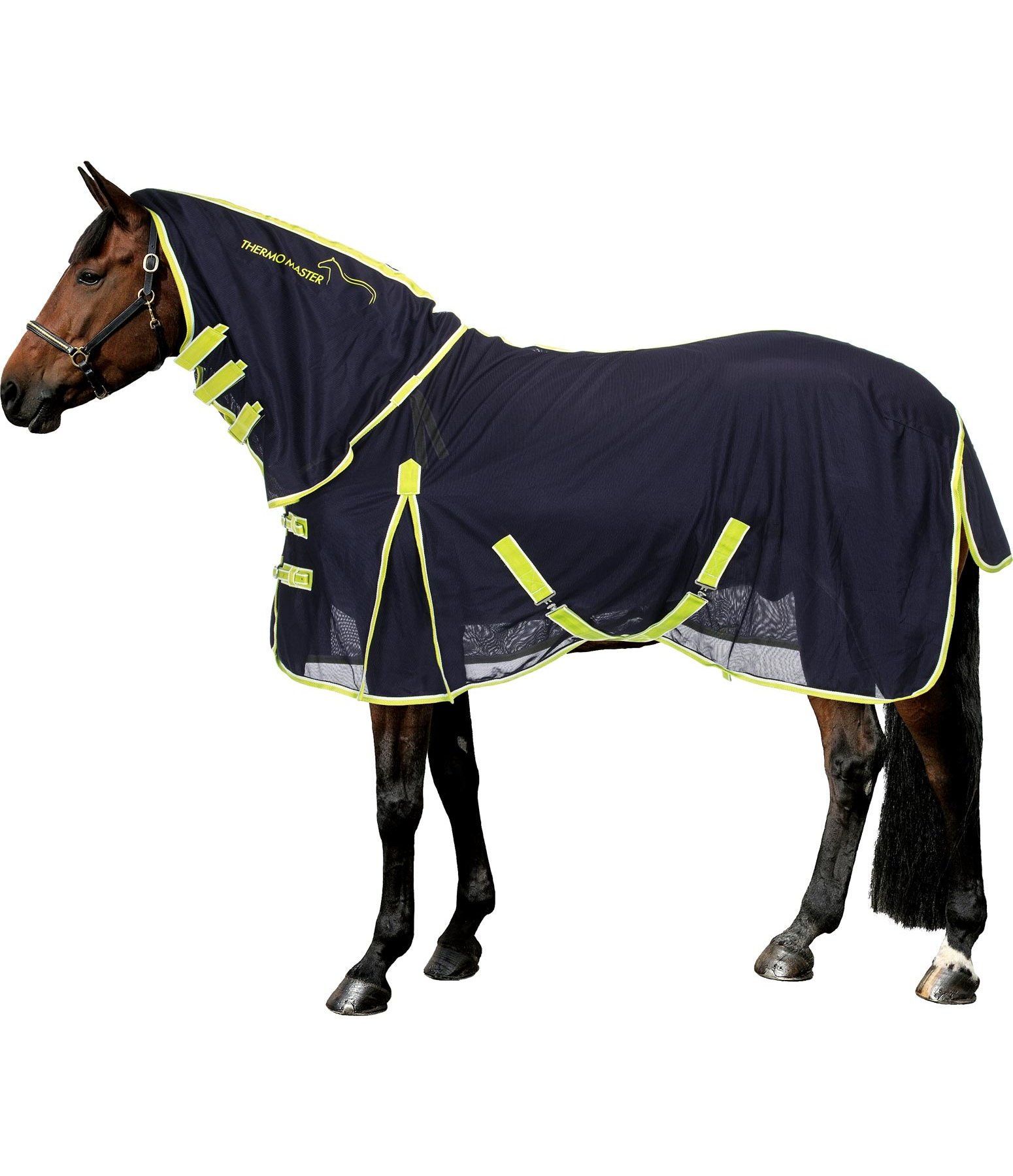Full Neck Fly Rug with Retractable Neck
