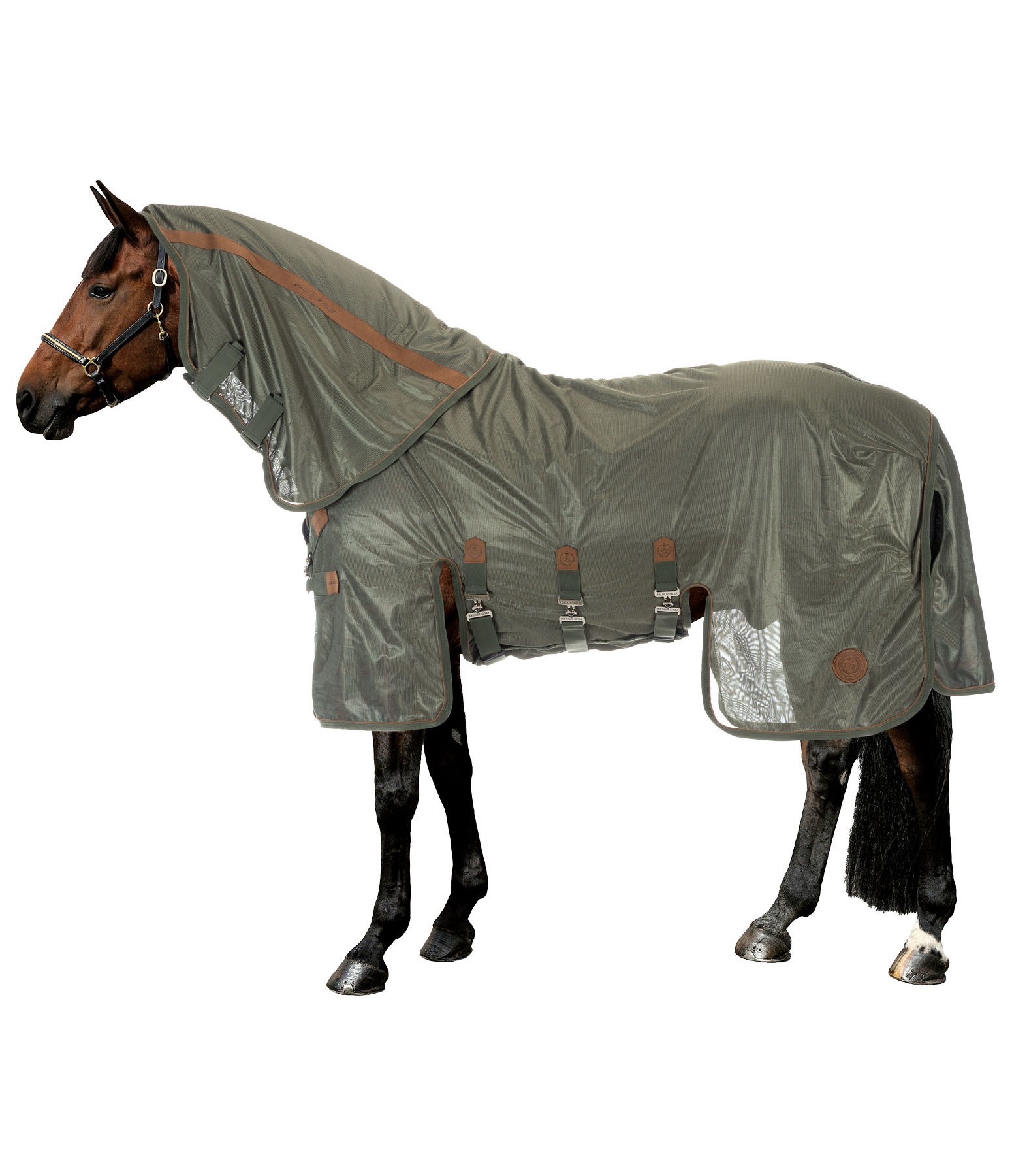 Full Neck Fly Rug Timeless Elegance with Detachable Neck Piece