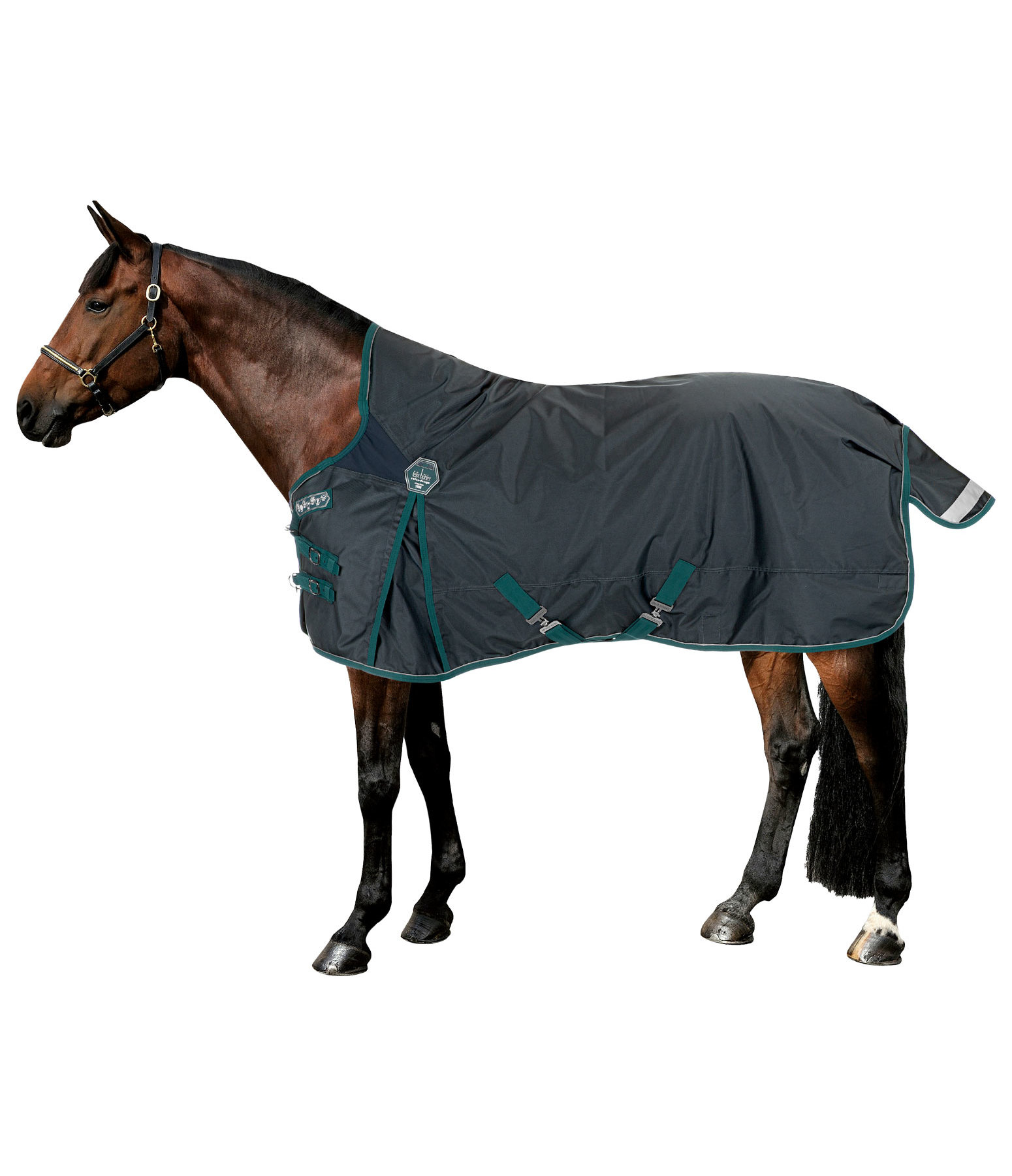 High Neck Turnout Rug Perfect Fit, 100g