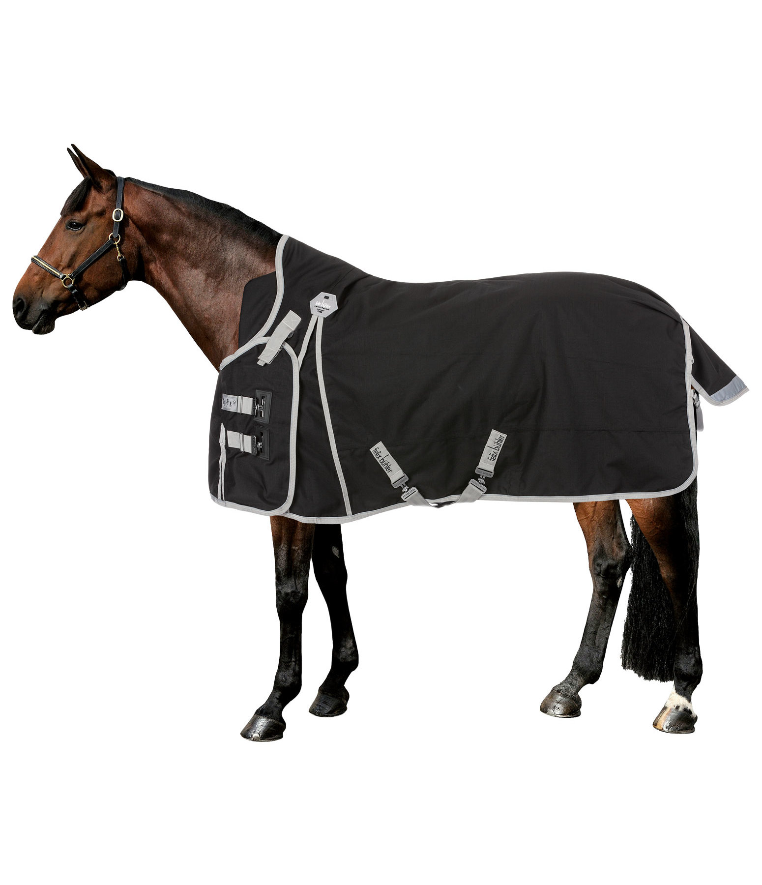 High Neck Turnout Rug Side Closure, 150g