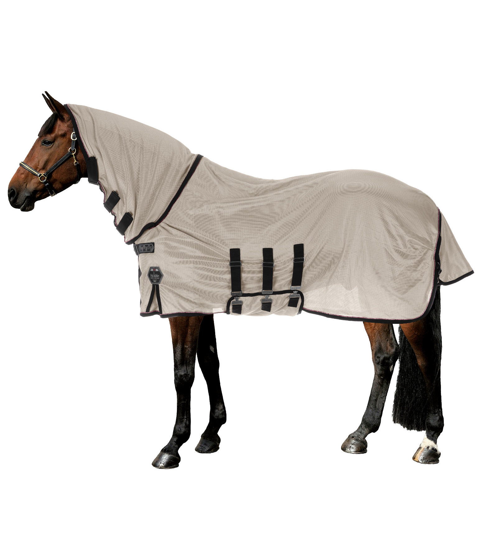 by Bucas Fly Rug Buzz-off X Turnout, UV 70+
