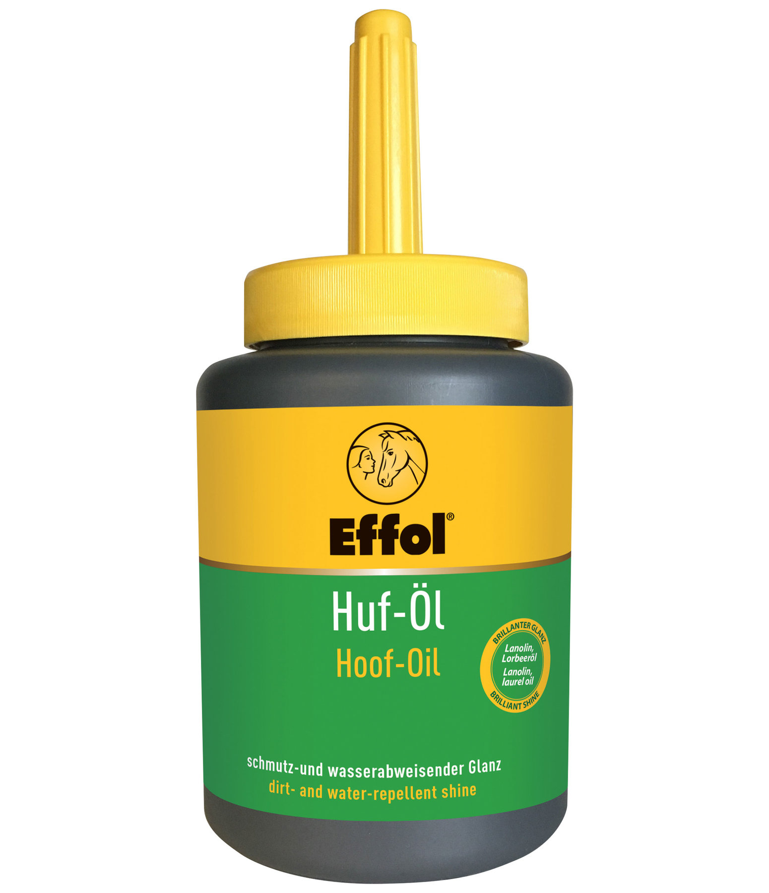 Hoof Oil with Integrated Brush