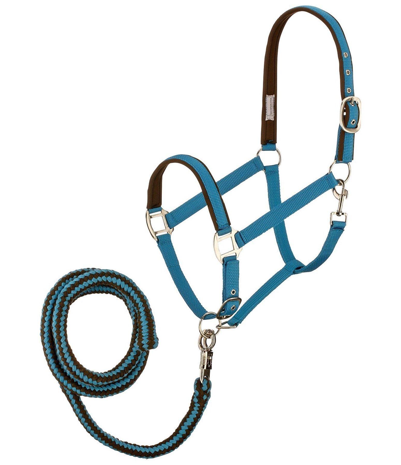 how to make a rope headcollar