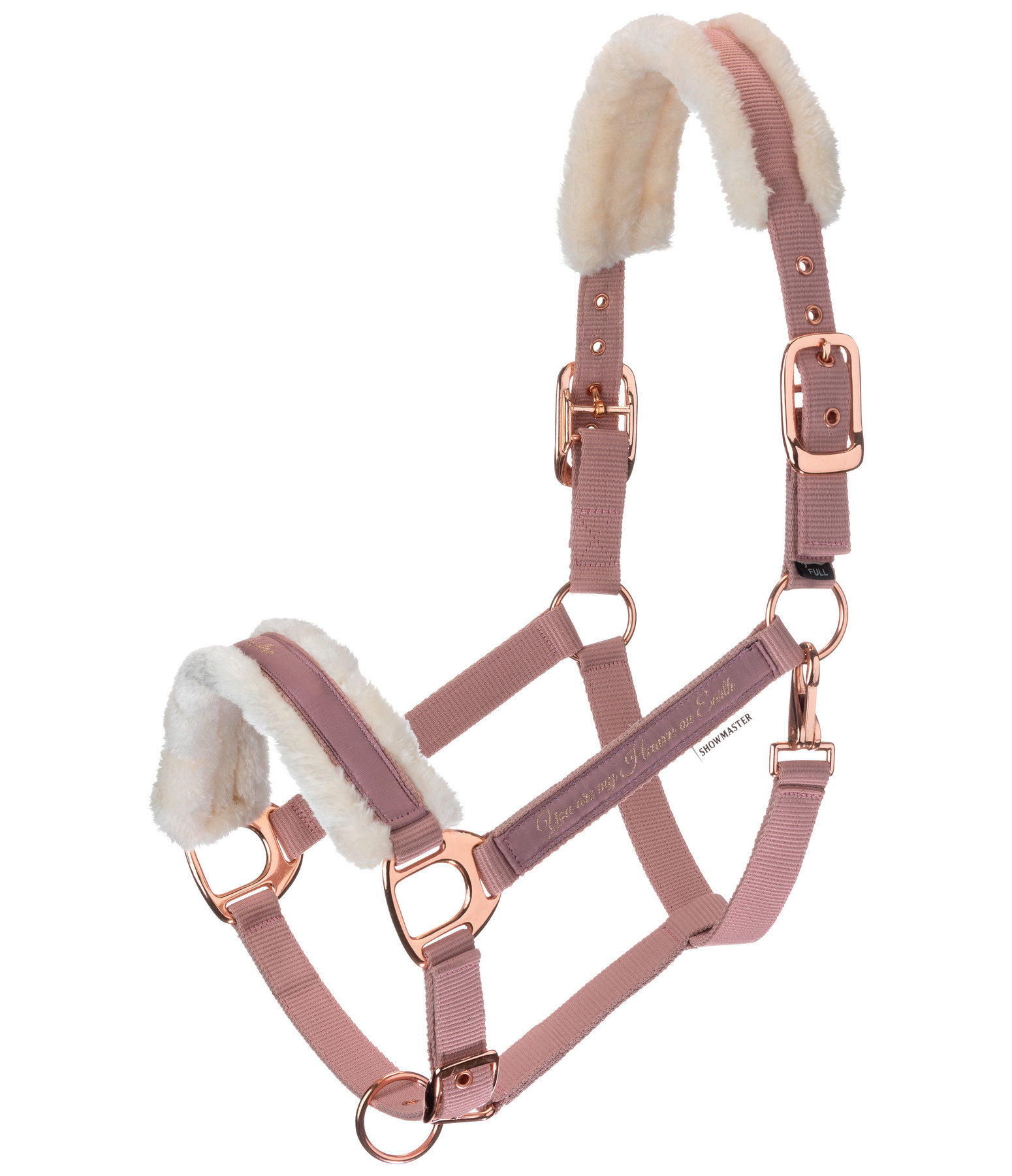 Teddy Fleece Headcollar Better Together