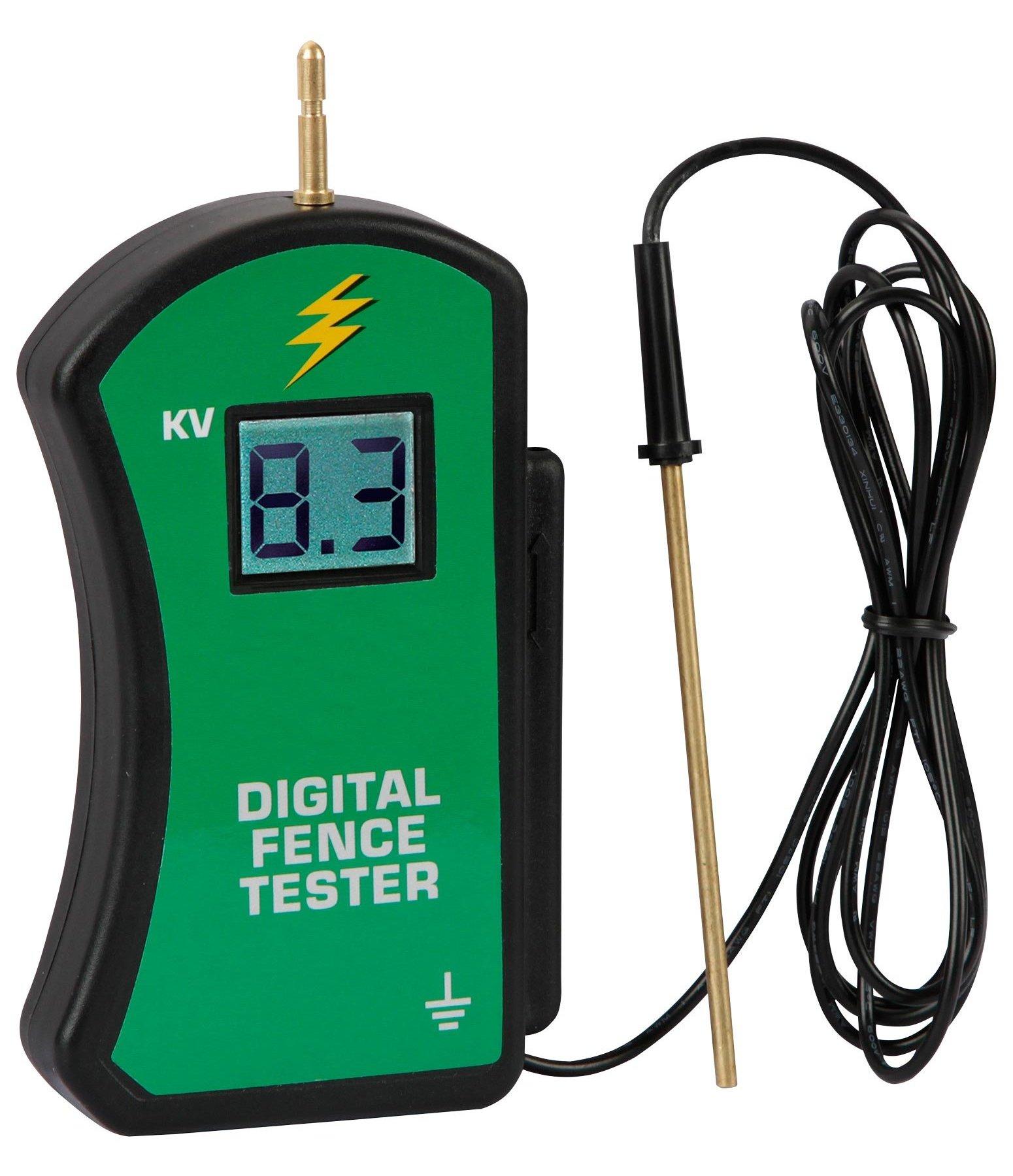 Digital Voltmeter Fence : Digital voltmeter fencing accessories kramer equestrian