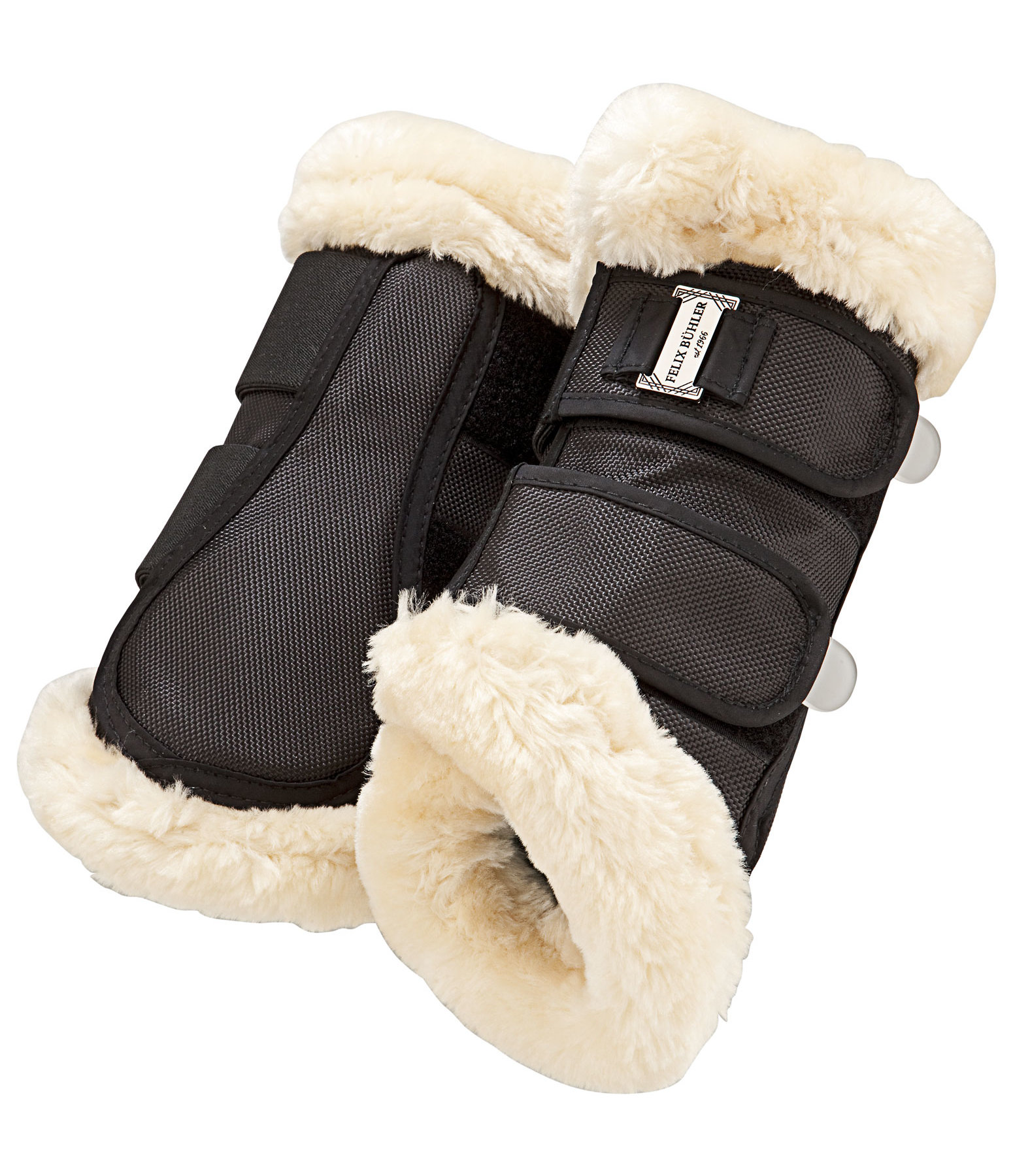 Teddy Fleece Dressage Boots Essential, front legs