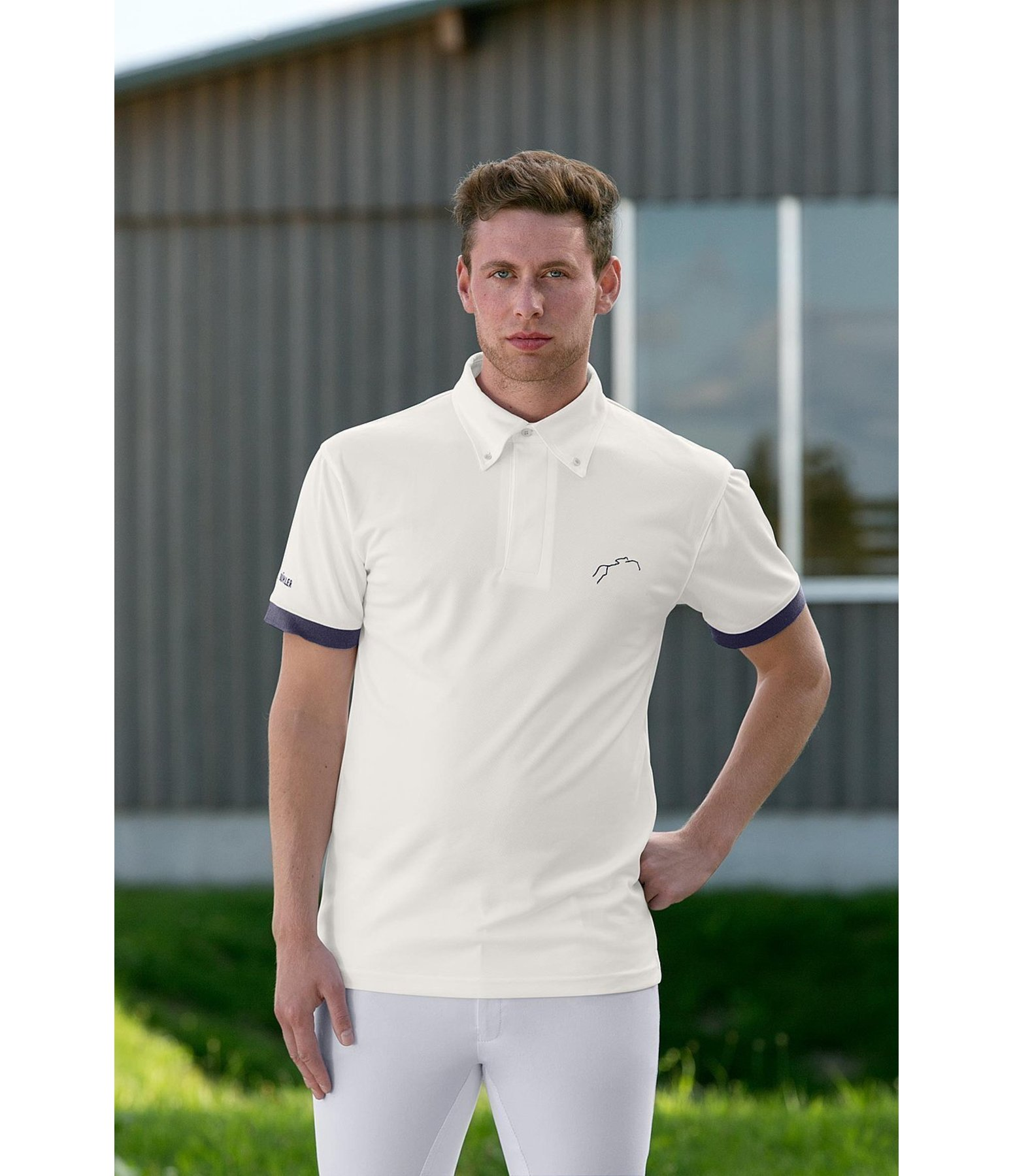 men 39 s functional competition shirt lyon men 39 s show wear. Black Bedroom Furniture Sets. Home Design Ideas