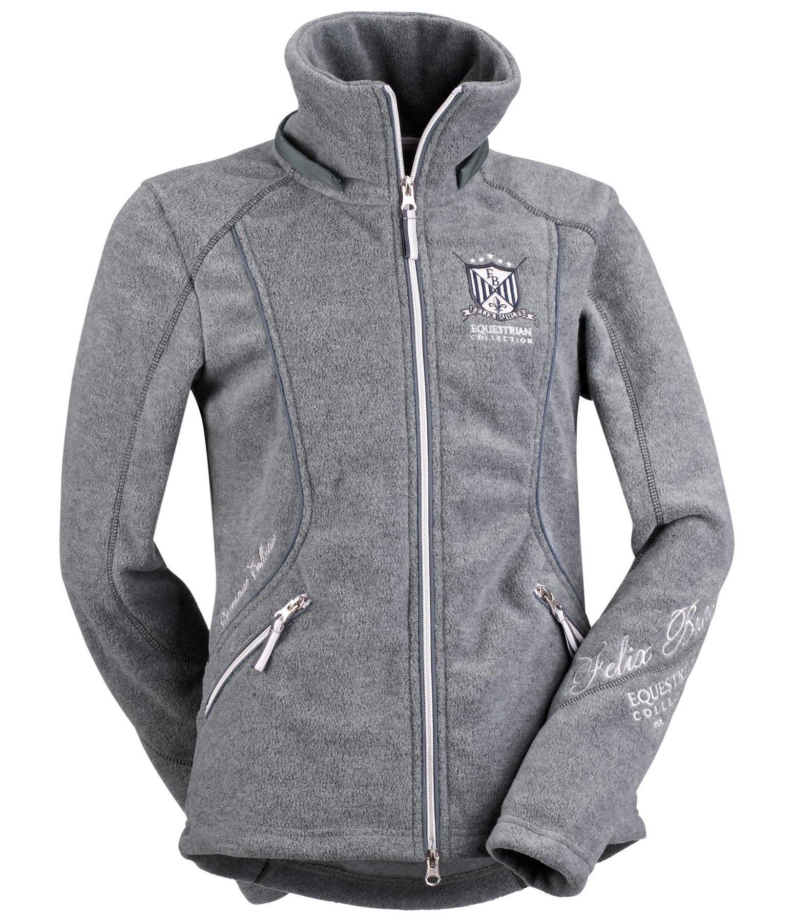 hooded fleece jacket suzy fleece jackets kramer equestrian. Black Bedroom Furniture Sets. Home Design Ideas