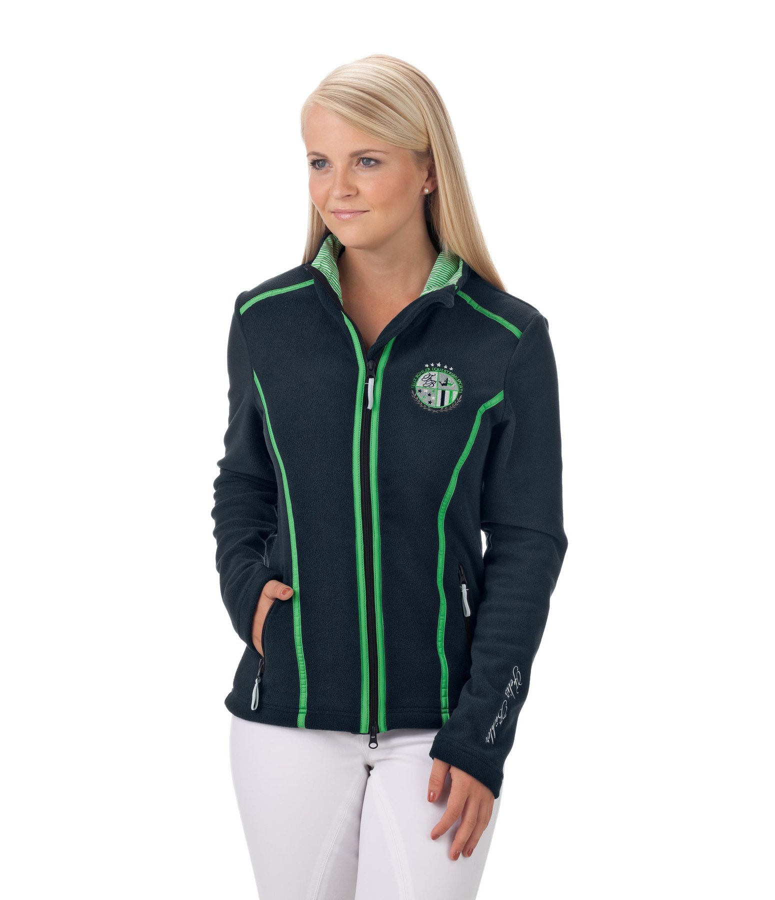 fleece jacket dana fleece jackets kramer equestrian. Black Bedroom Furniture Sets. Home Design Ideas