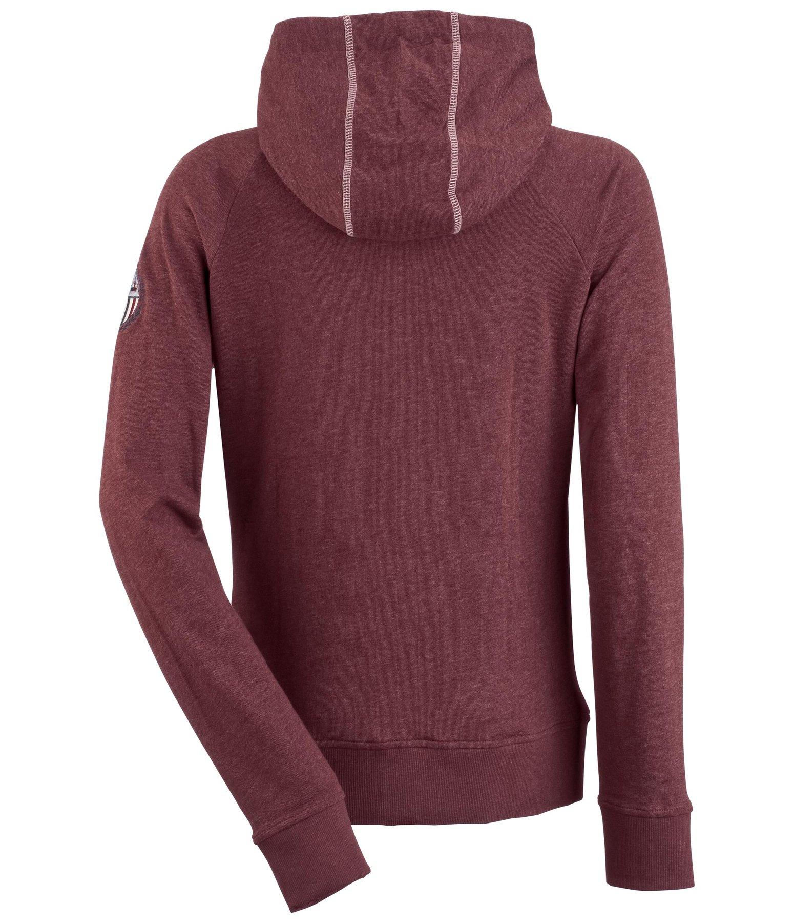 hooded sweat jacket ida sweat jackets kramer equestrian. Black Bedroom Furniture Sets. Home Design Ideas