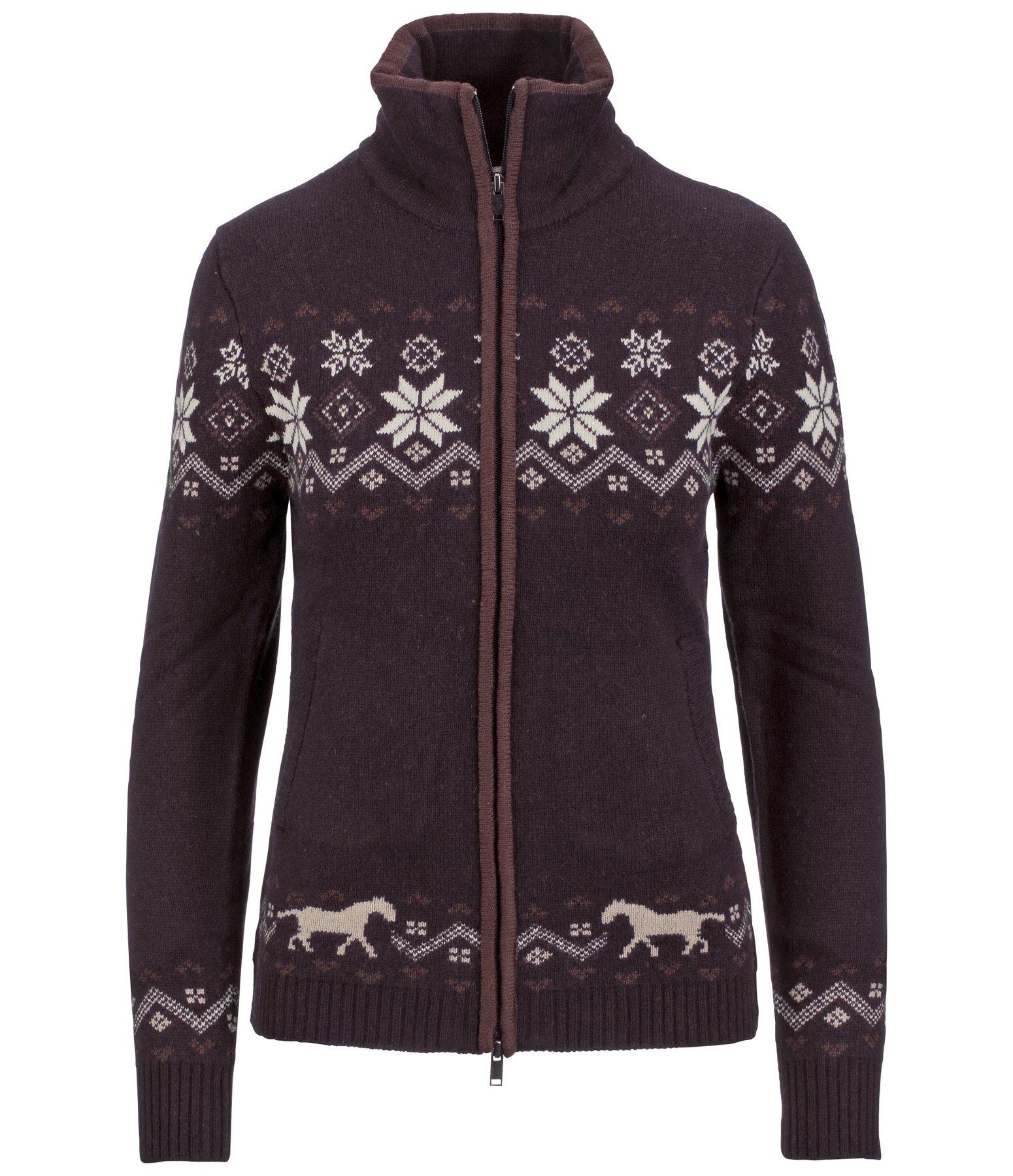 knit jacket lia jumpers turtlenecks knitwear kramer. Black Bedroom Furniture Sets. Home Design Ideas