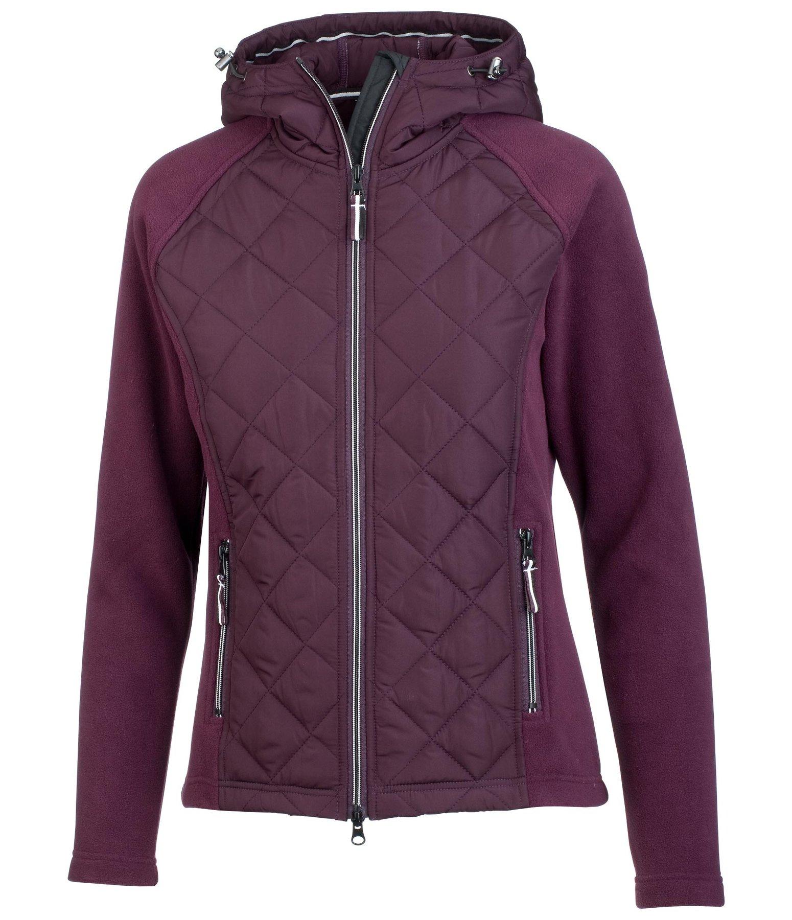combination jacket sara fleece jackets kramer equestrian. Black Bedroom Furniture Sets. Home Design Ideas