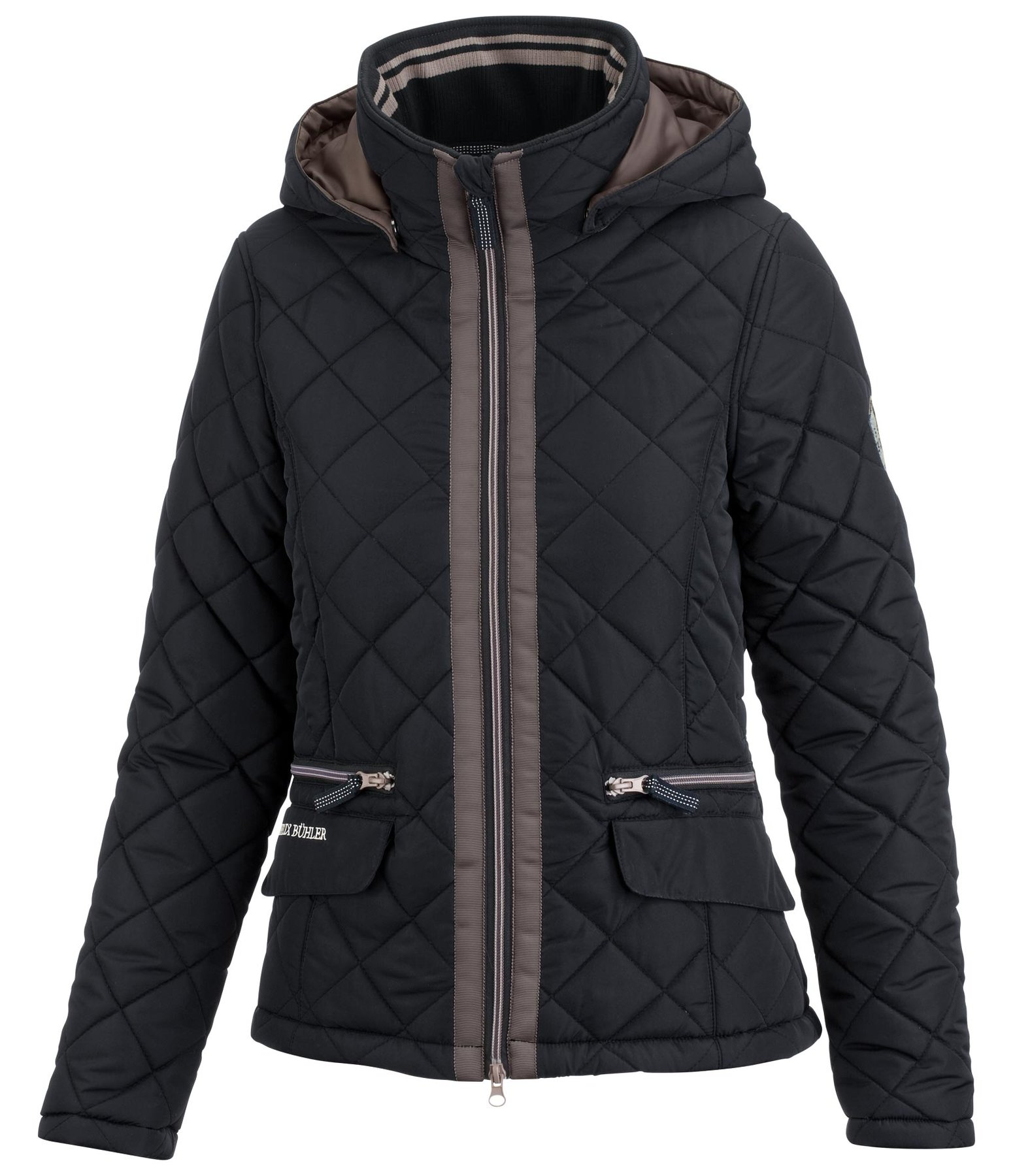 Hooded Quilted Jacket Annika Winter Riding Jackets