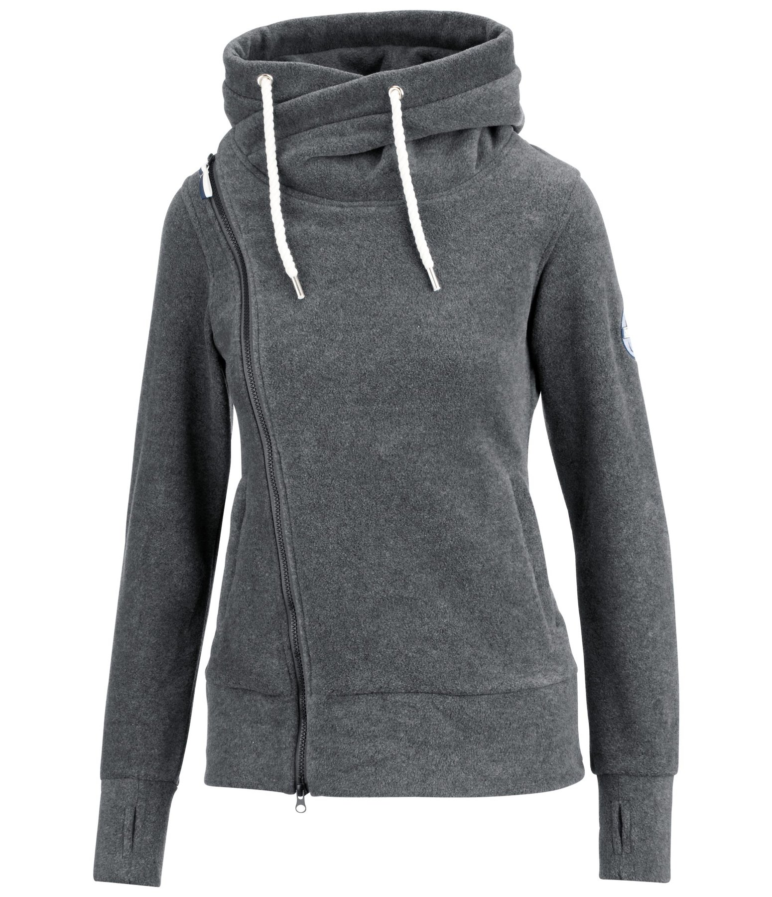 Hooded Fleece Jacket Ida