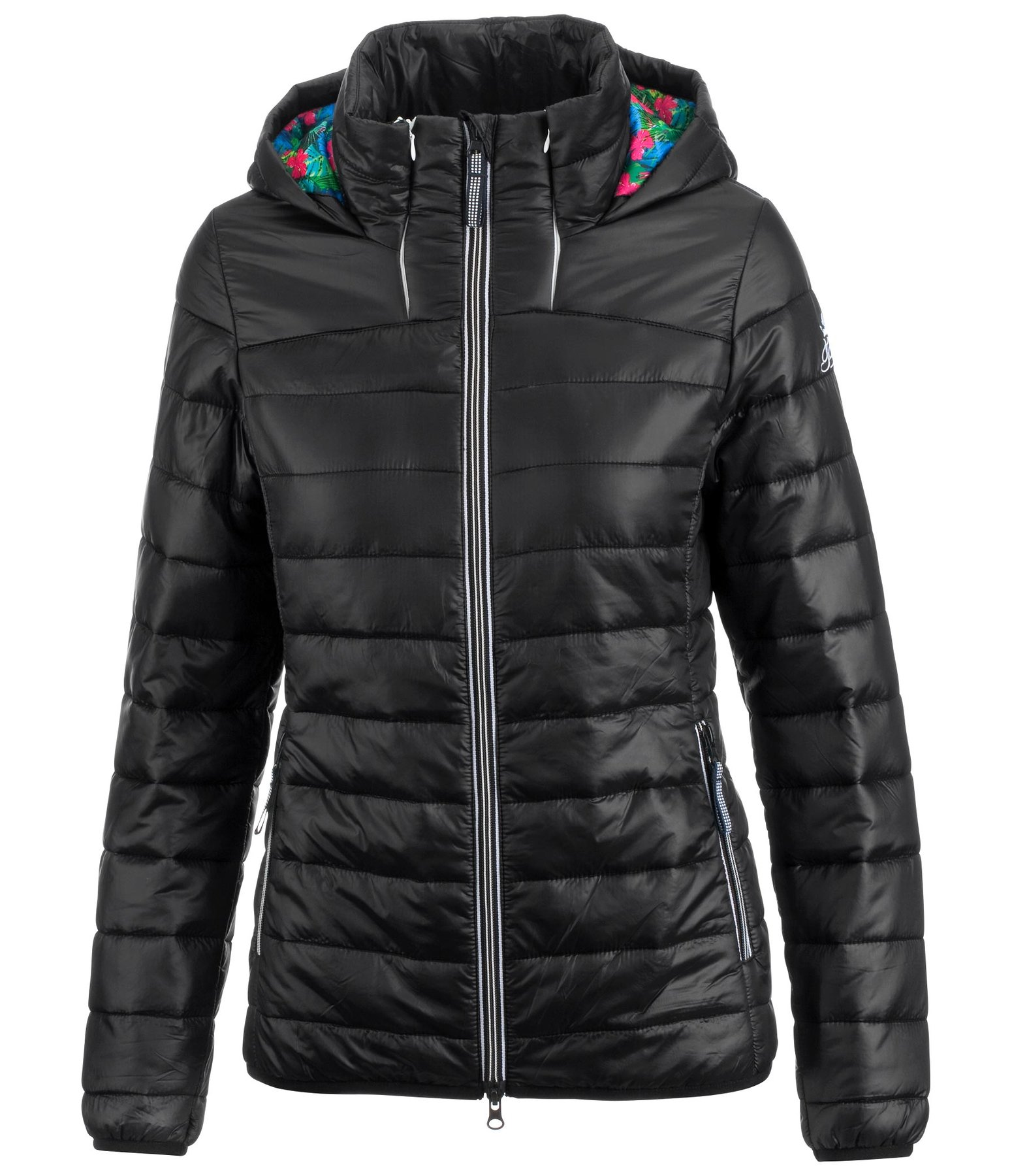 Hooded Quilted Jacket Lena