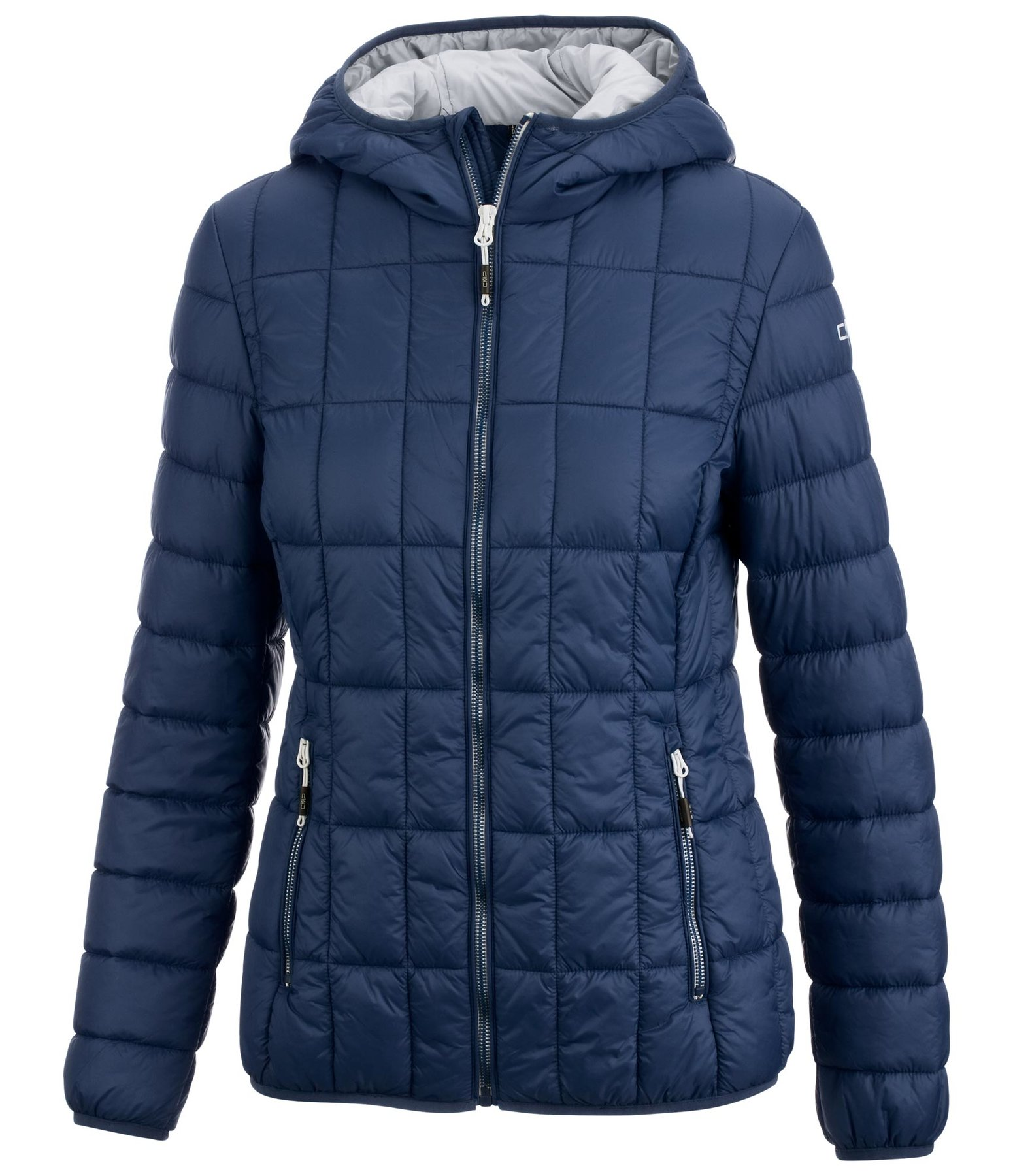 Hooded Quilted Jacket Aurora