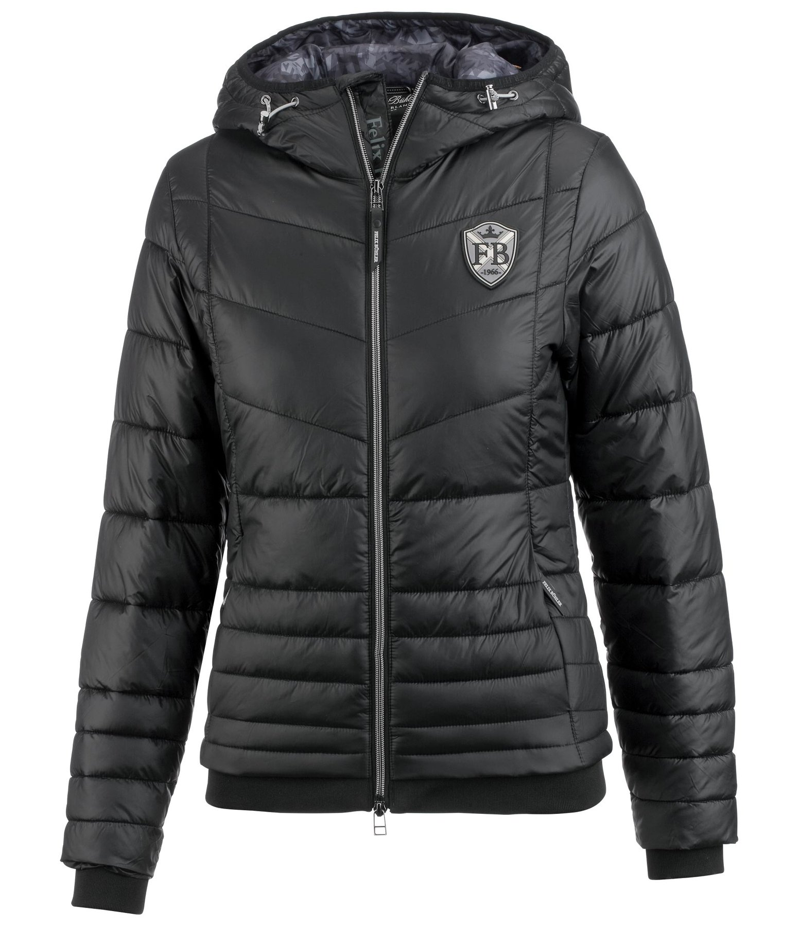 Hooded Quilted Jacket Luna