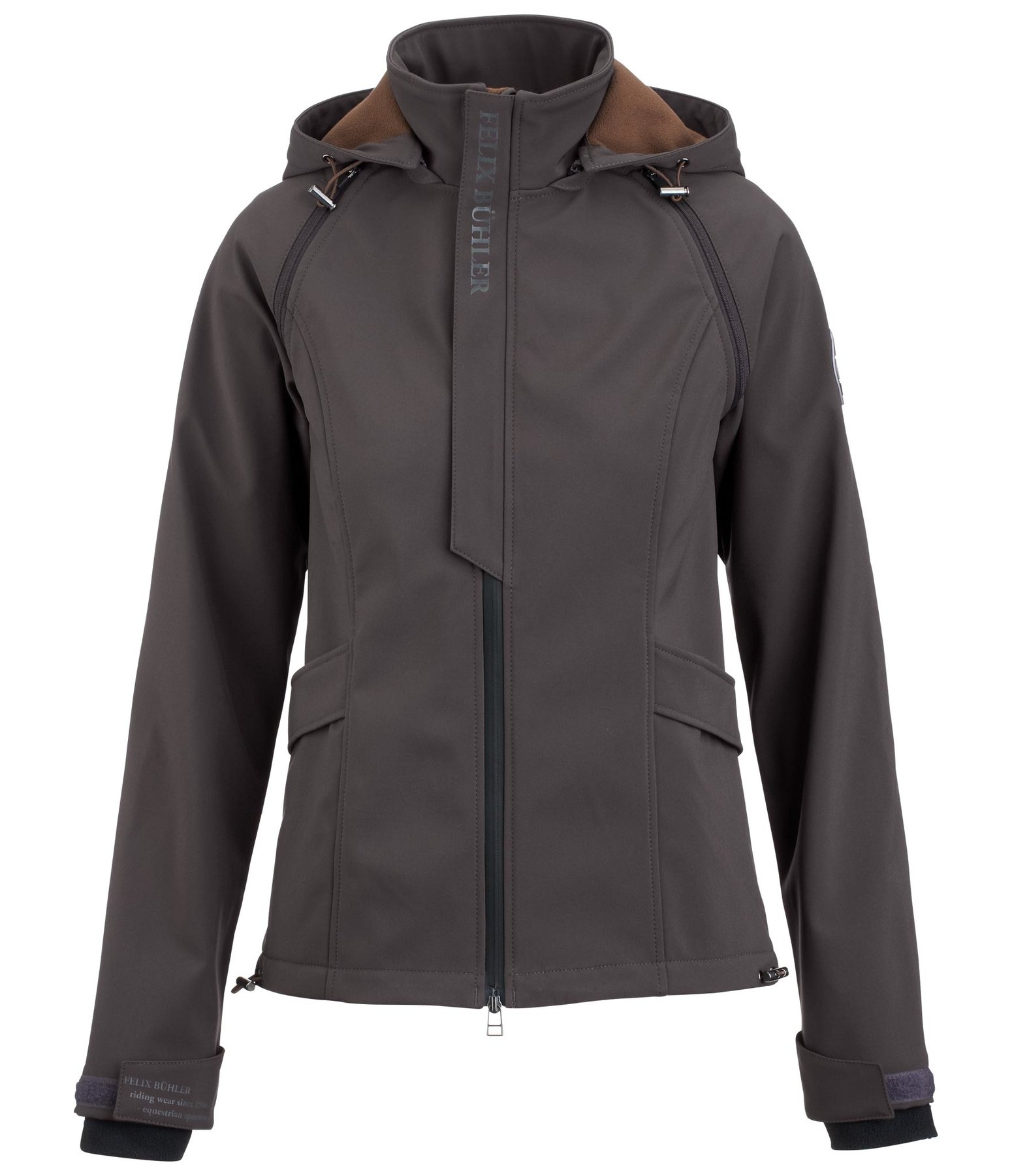 2-in-1 Hooded Soft Shell Jacket Zoe