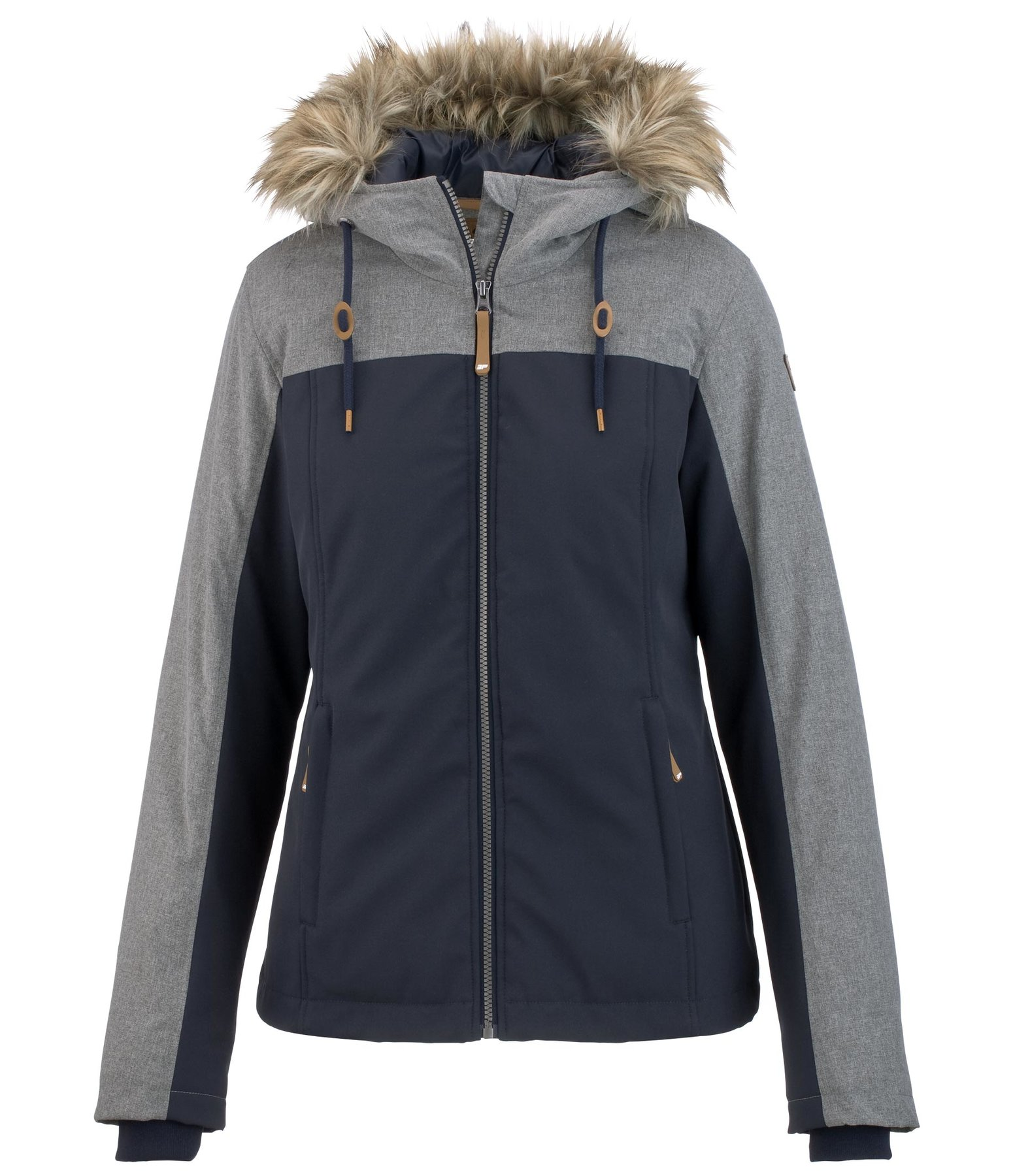 Hooded Combination Soft Shell Jacket Almyra