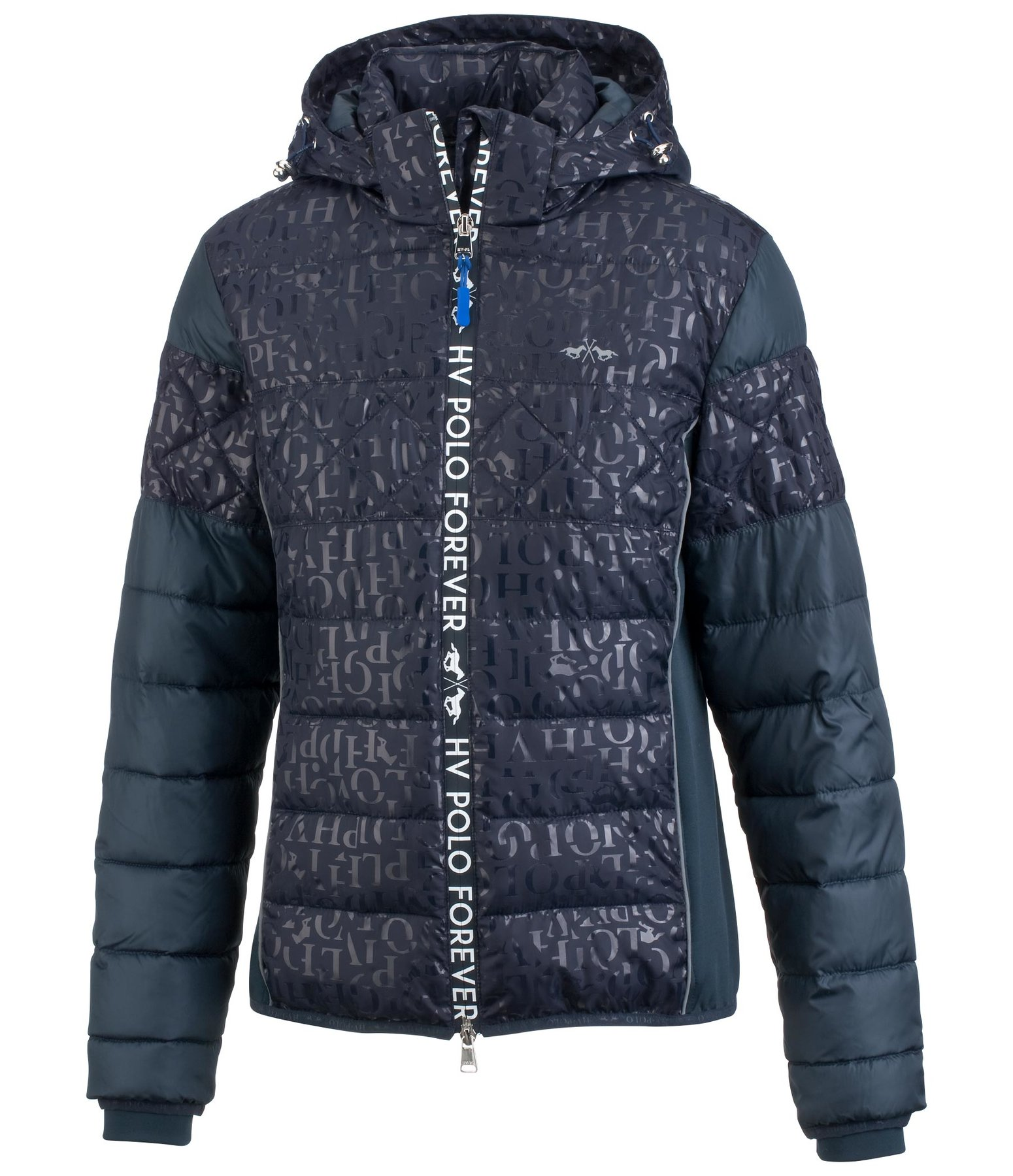 Imitation Down Hooded Jacket Sorrenta