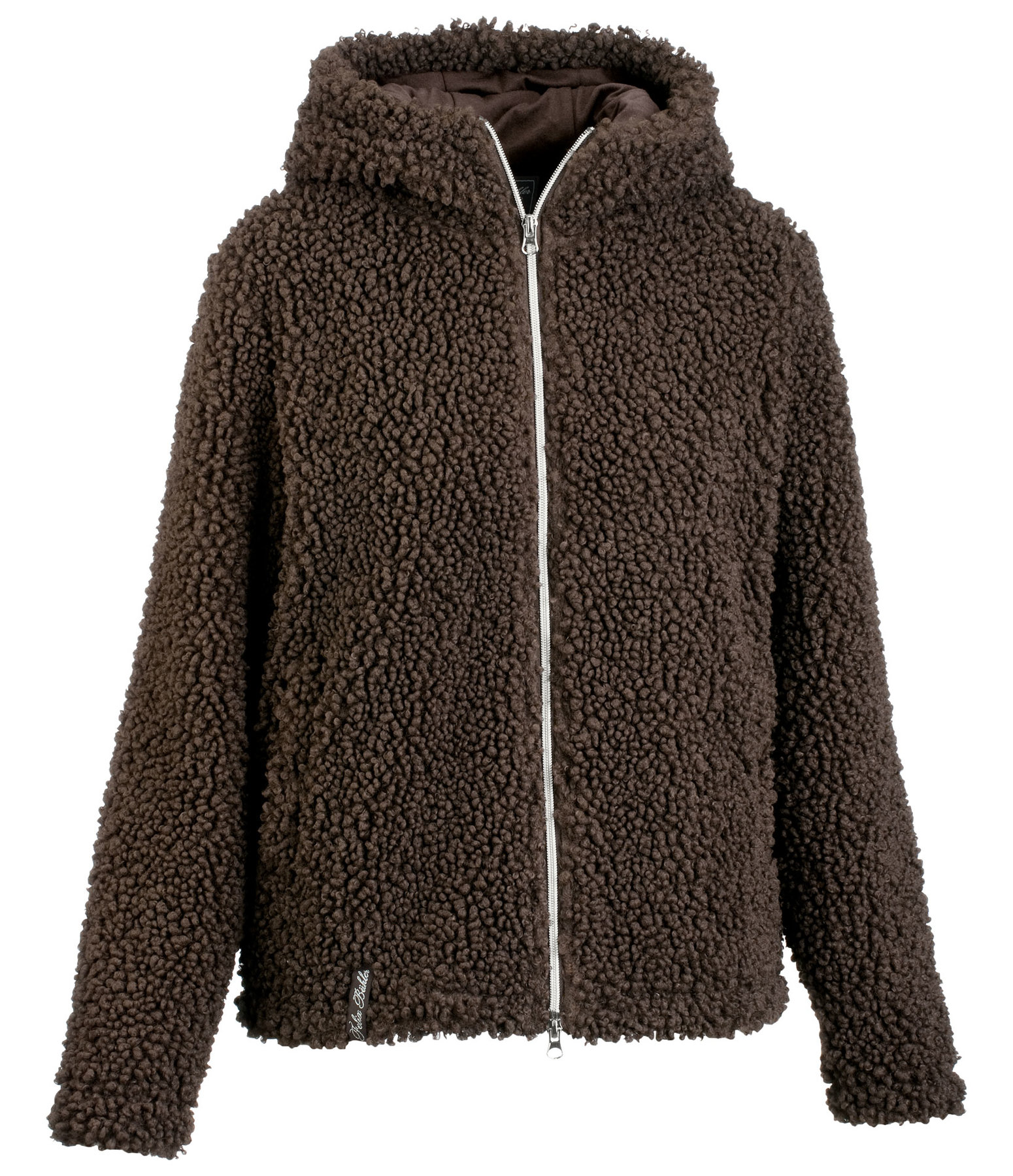 Hooded Teddy Fleece Jacket Sophie