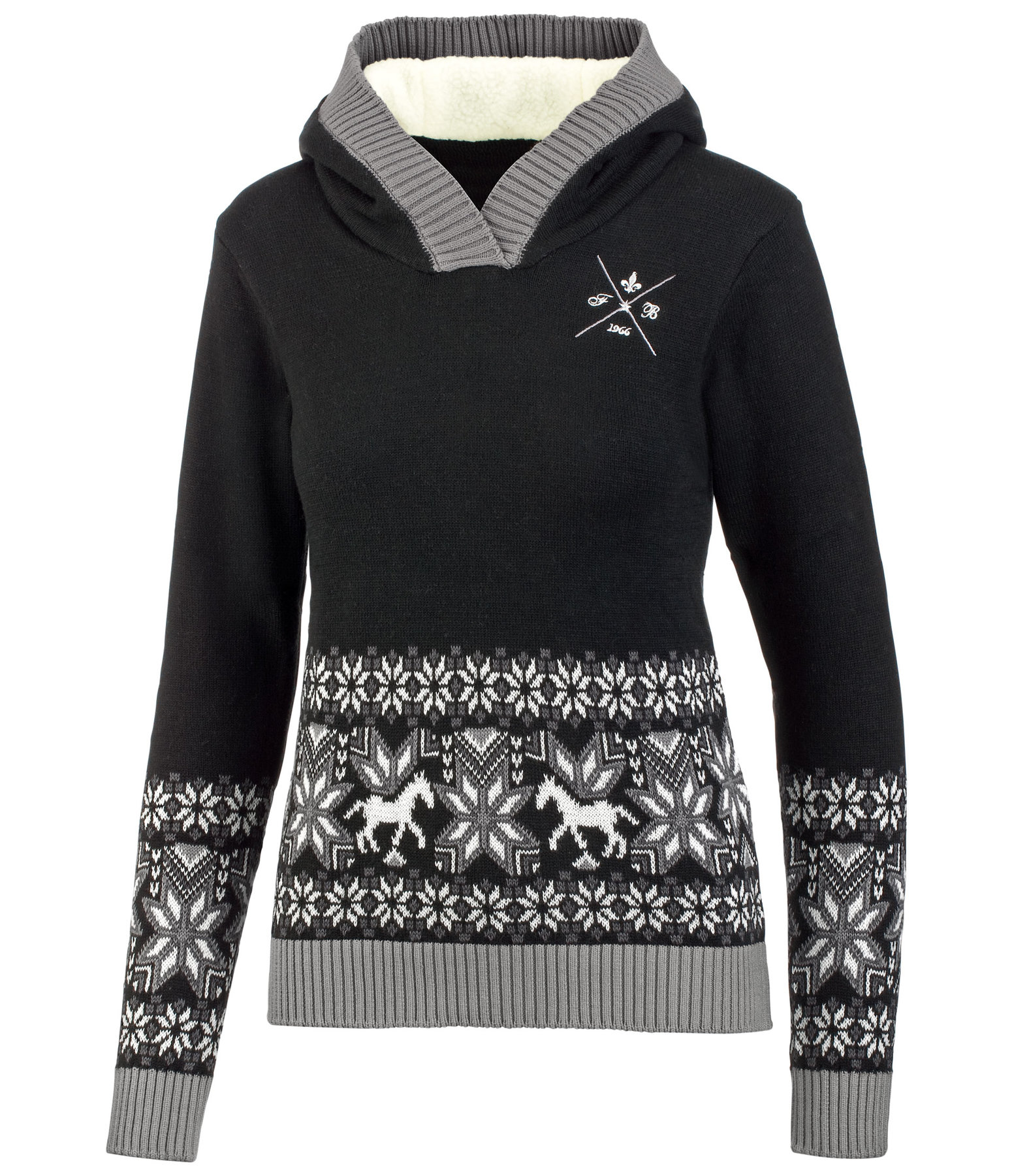 Hooded Knitted Sweater Marie