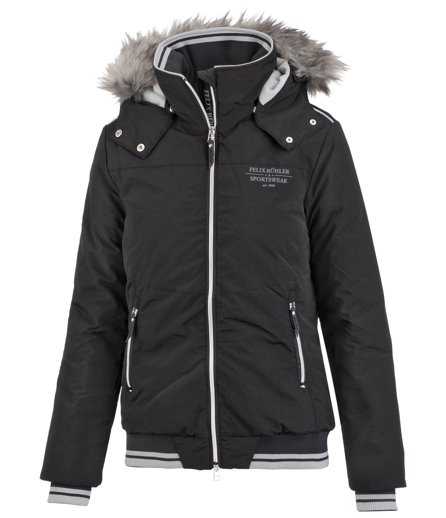 Hooded Riding Blouson Ella