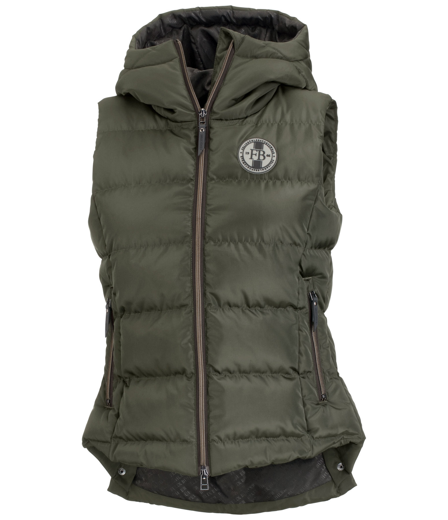 Hooded Riding Gilet Melinda II