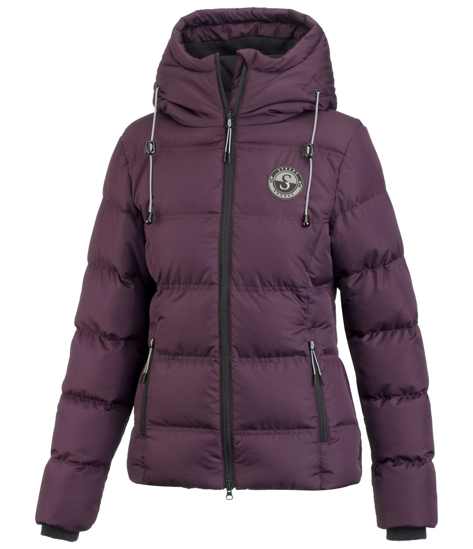 Hooded Quilted Riding Jacket Fiona II