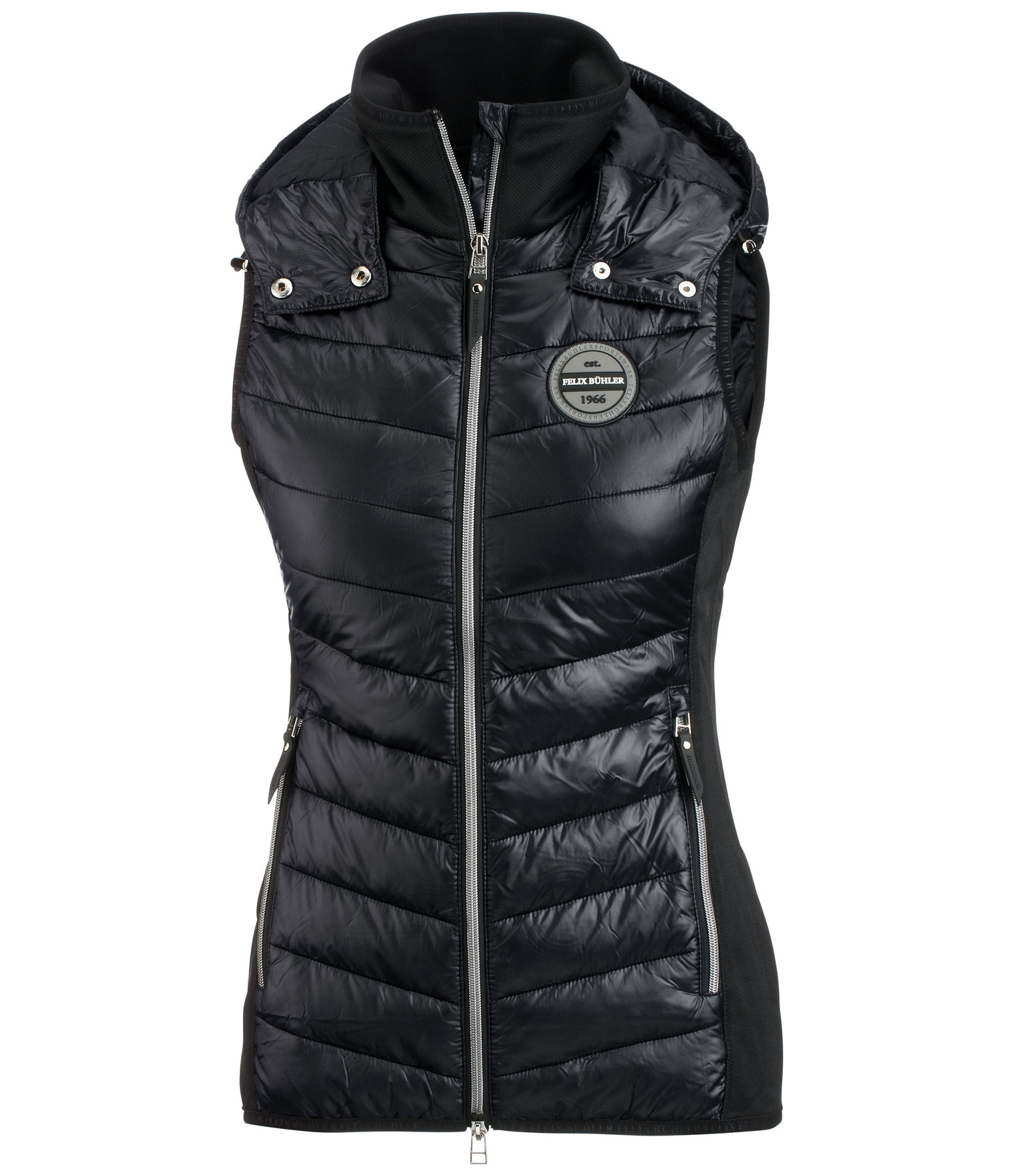 Hooded Combination Riding Gilet Elisa