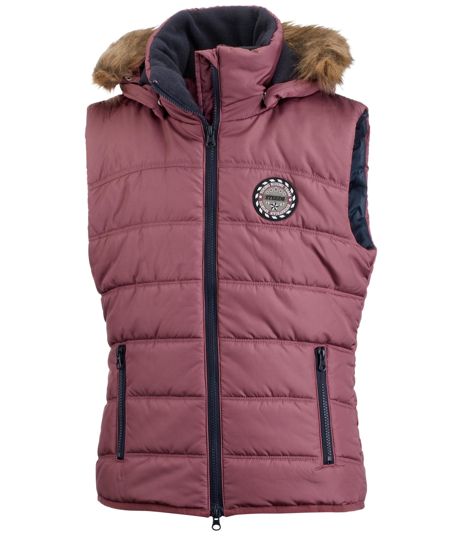 ef49b7855 STEEDS Children's Hooded Riding Gilet Erna - 680539-8Y-AR