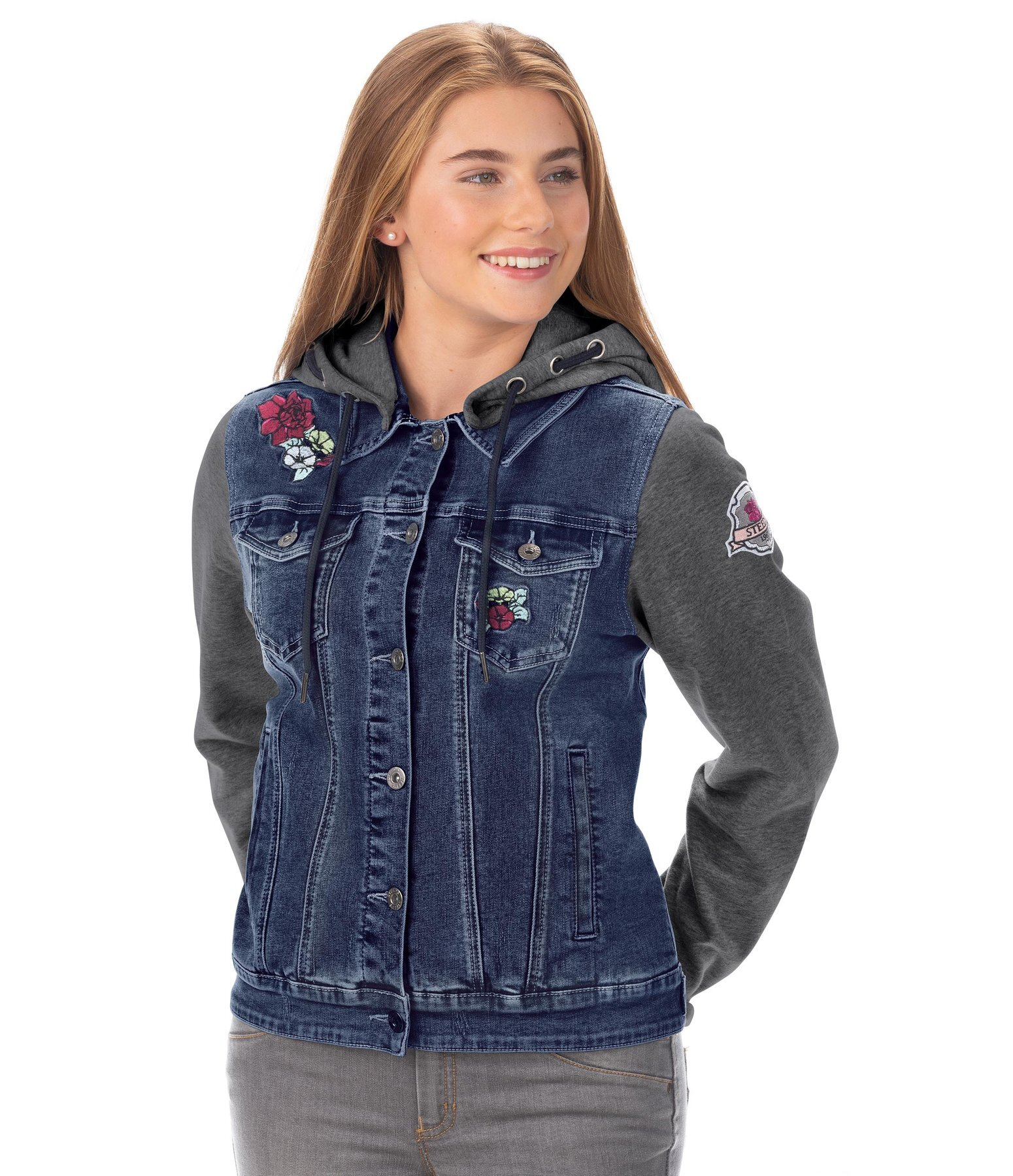 Children's Denim Sweat Jacket Katniss