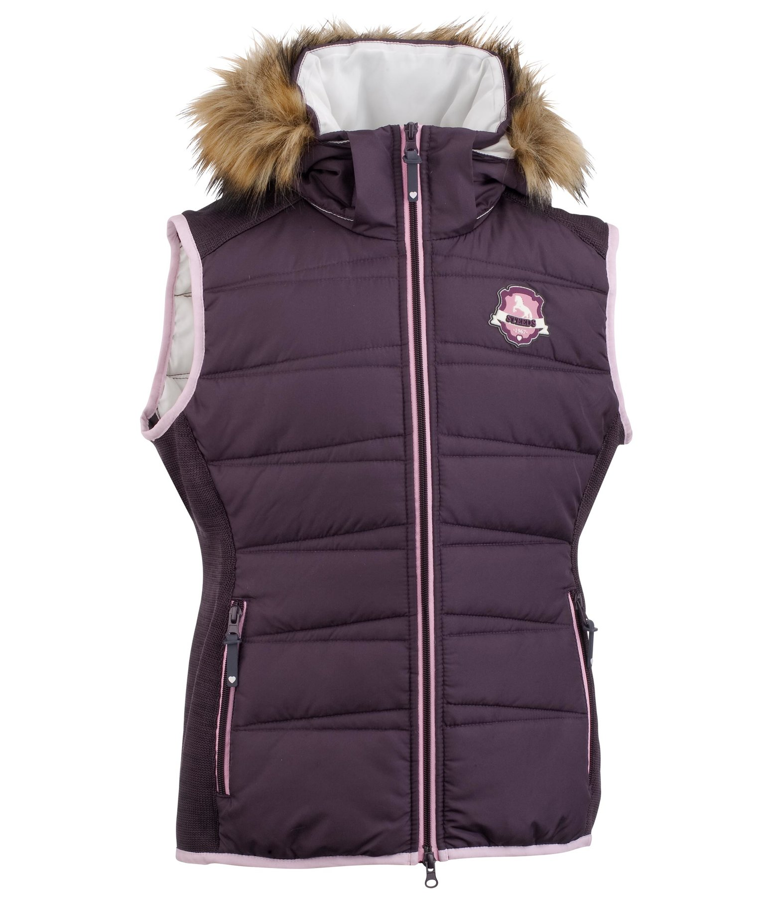 Children's Hooded Riding Gilet Hope