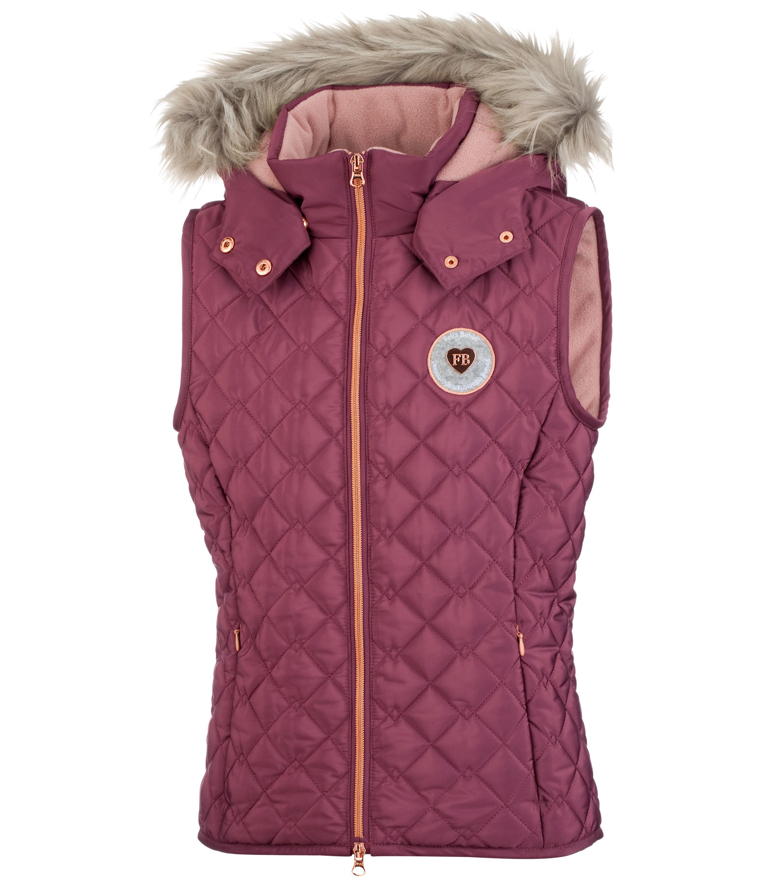 Children's Winter Quilted Gilet Maila