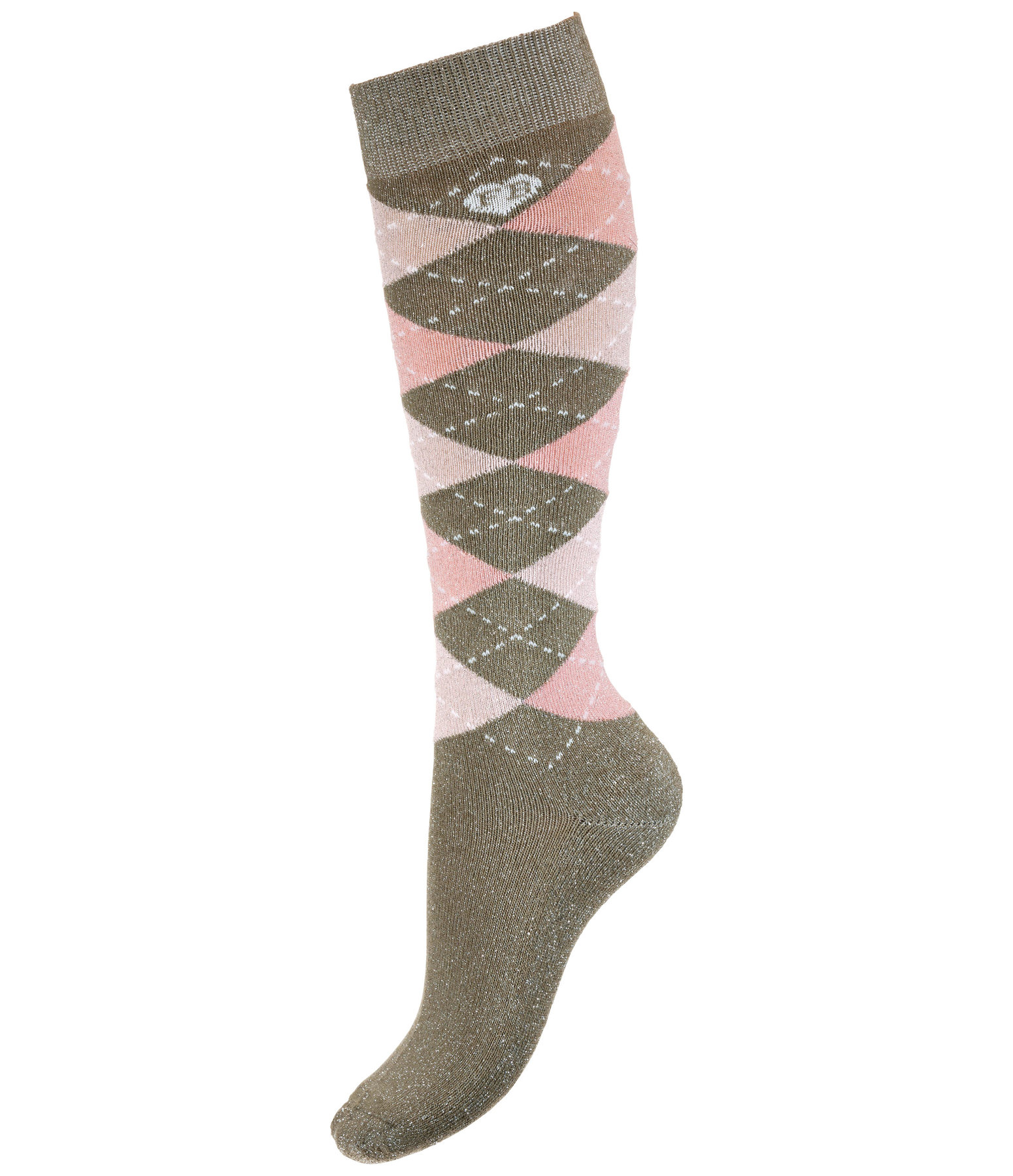 Children's Glitter Knee Socks Caro