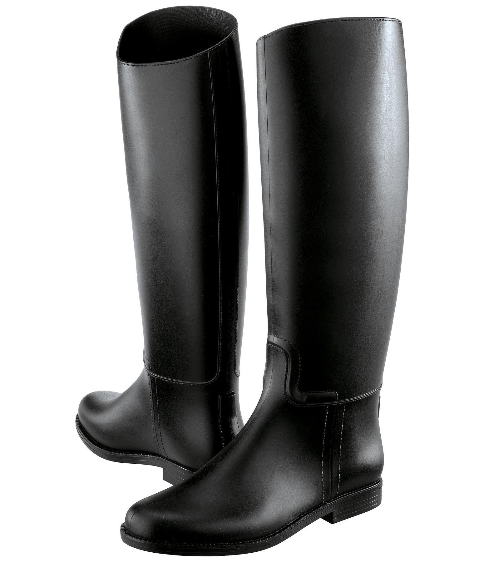 Long Rubber Riding Boots Start