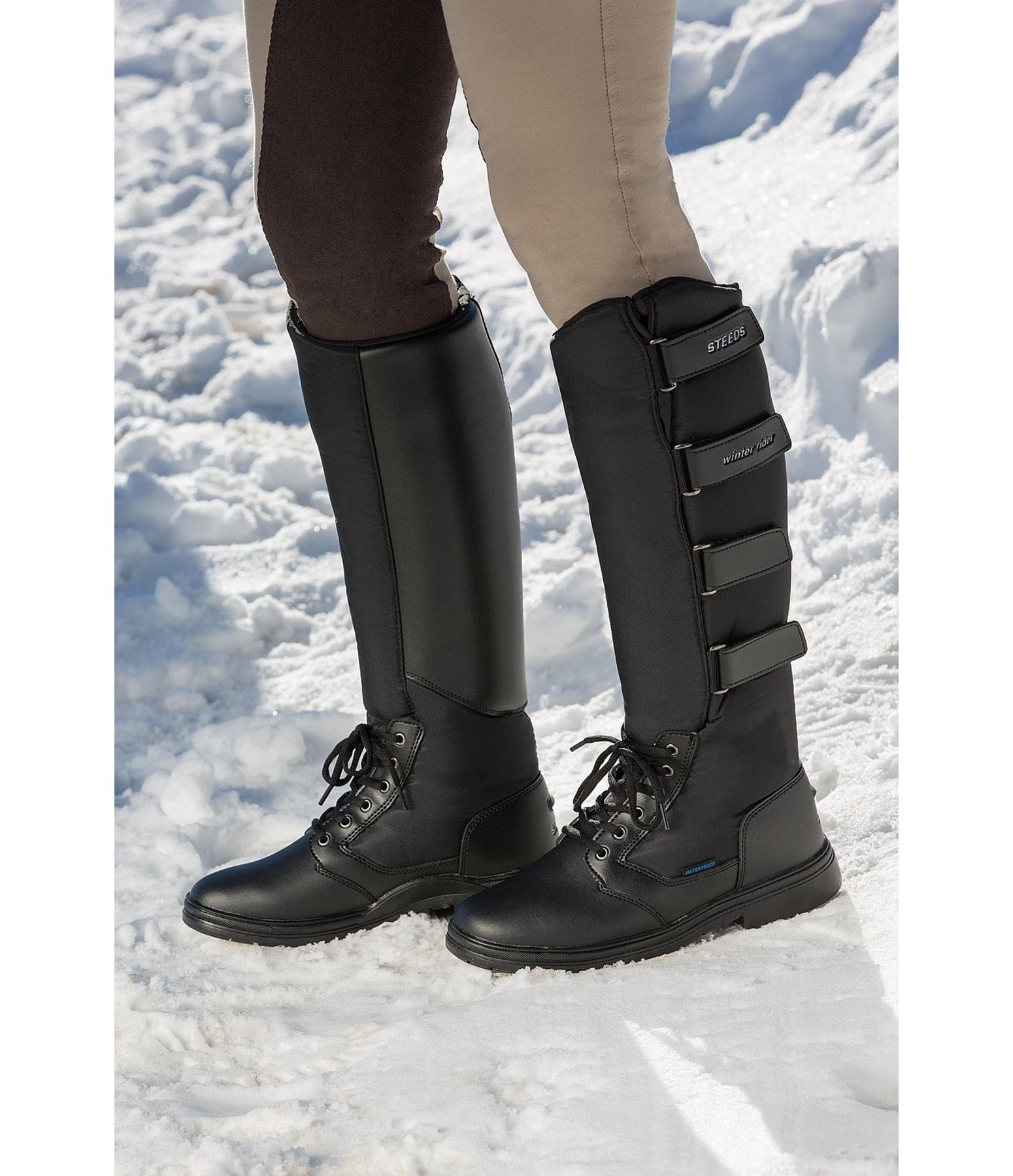 705ae6b65ae Long Thermal Riding Boots Winter Rider - Long Winter Riding Boots .