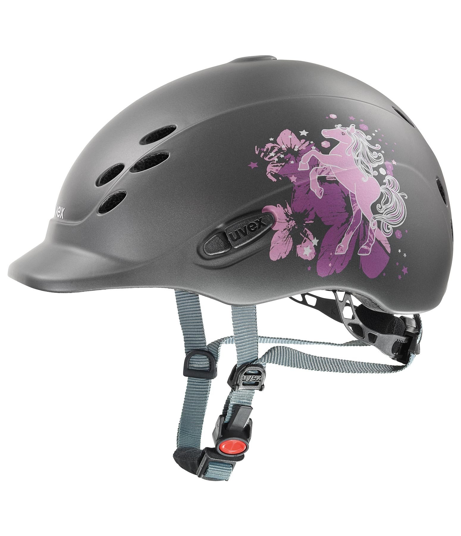 Children's Riding Hat onyxx with Little Pony Design
