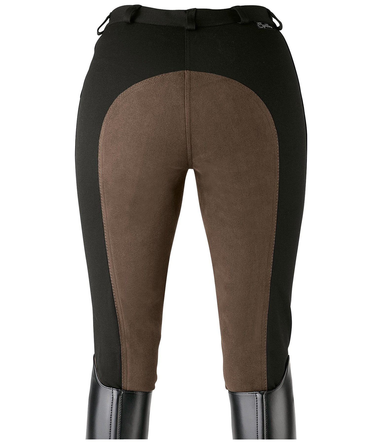 Women's Full-Seat Breeches Super-Stretch Two-Tone