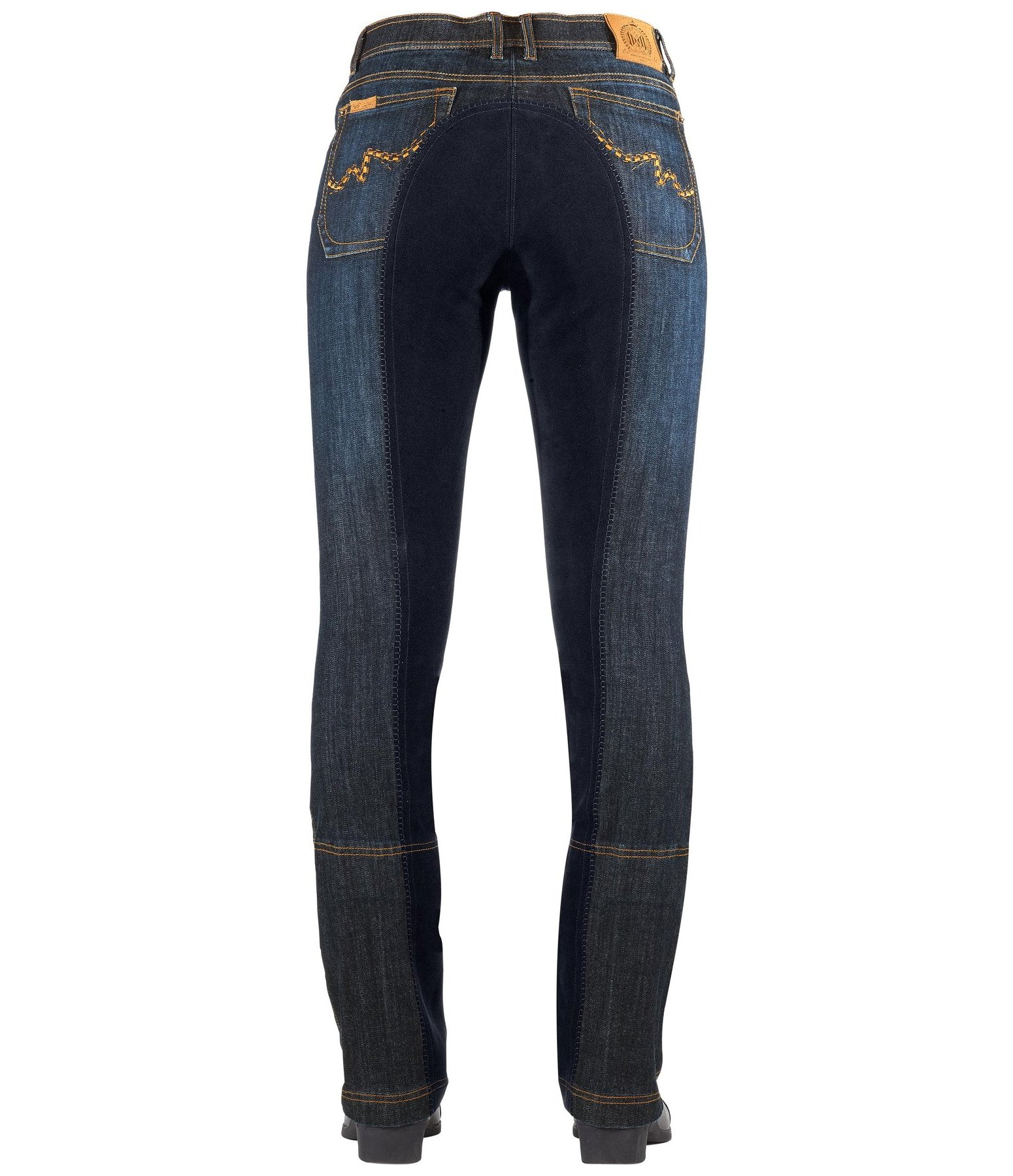 Full-Seat Denim Jodhpurs Helena