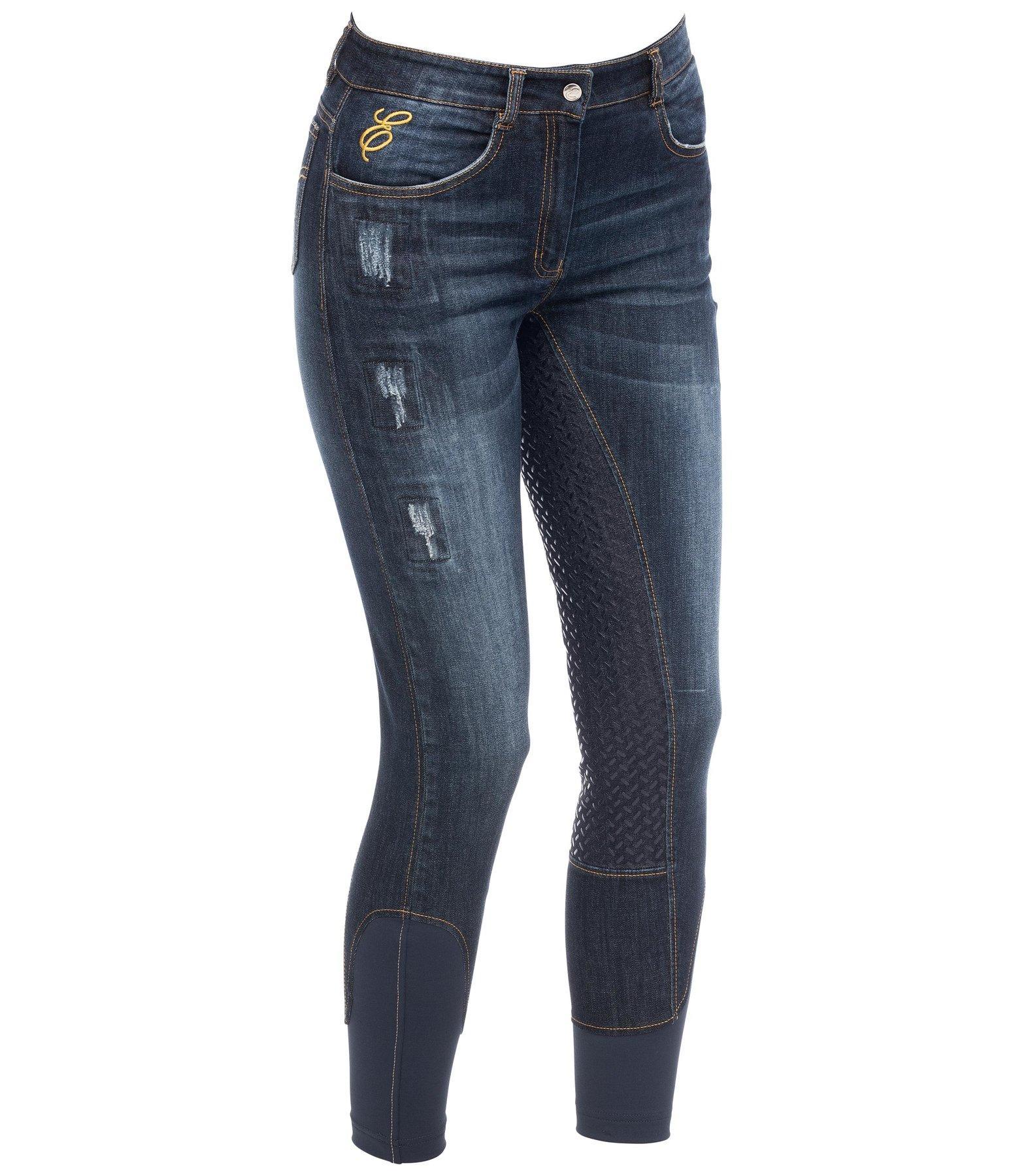 Denim Grip Full-Seat Breeches Jolina